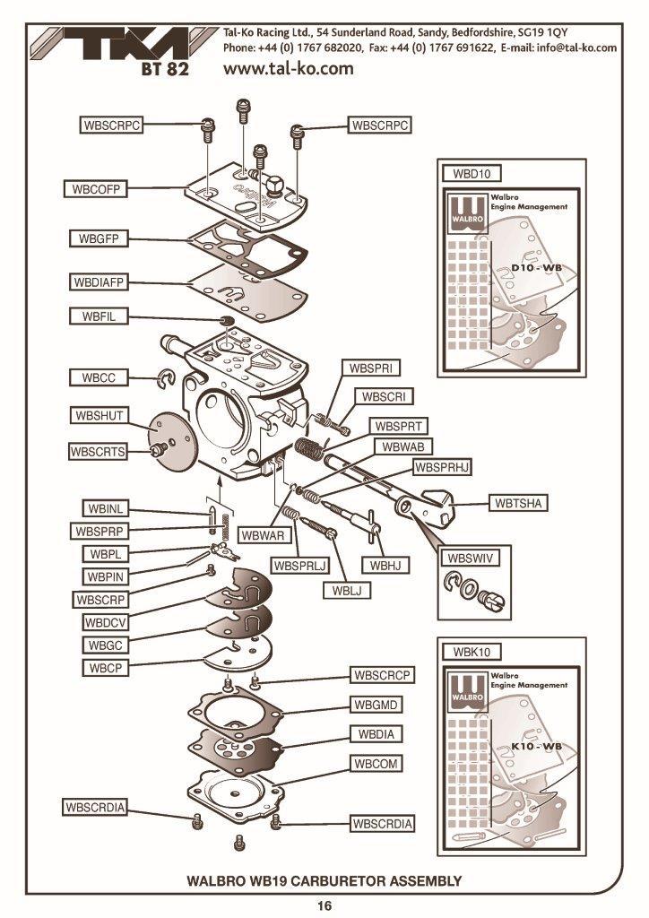 Walbro Carburetor Manual