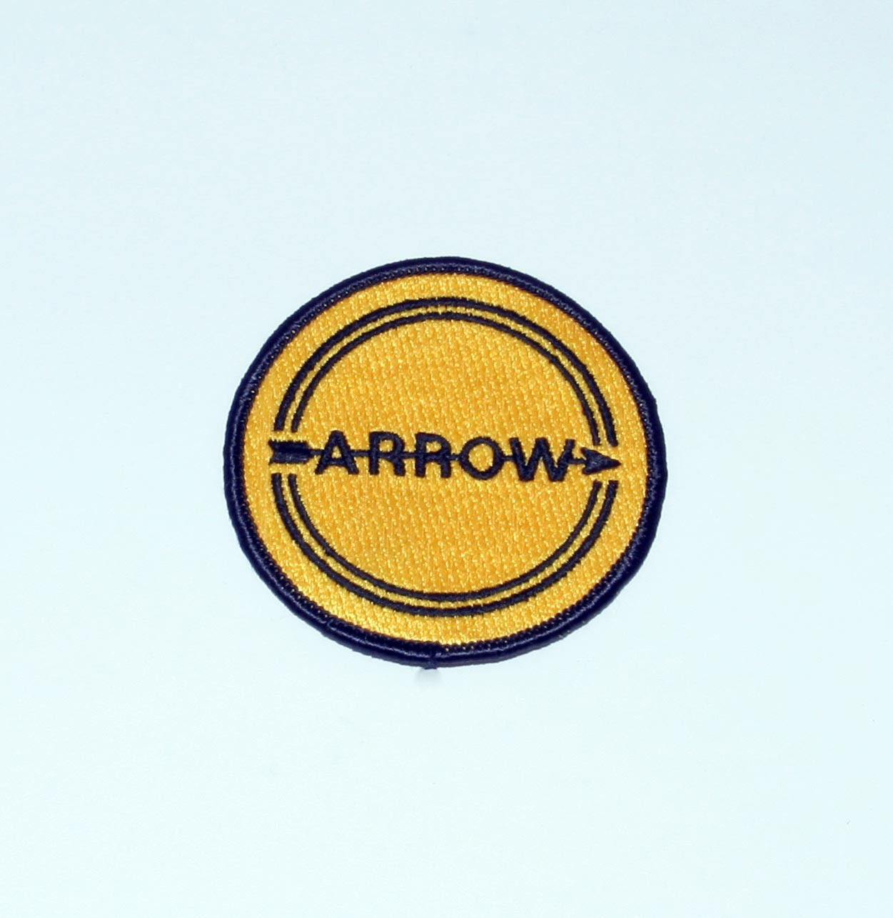 ARROW ENGINE RACESUIT BADGE 75 DIA
