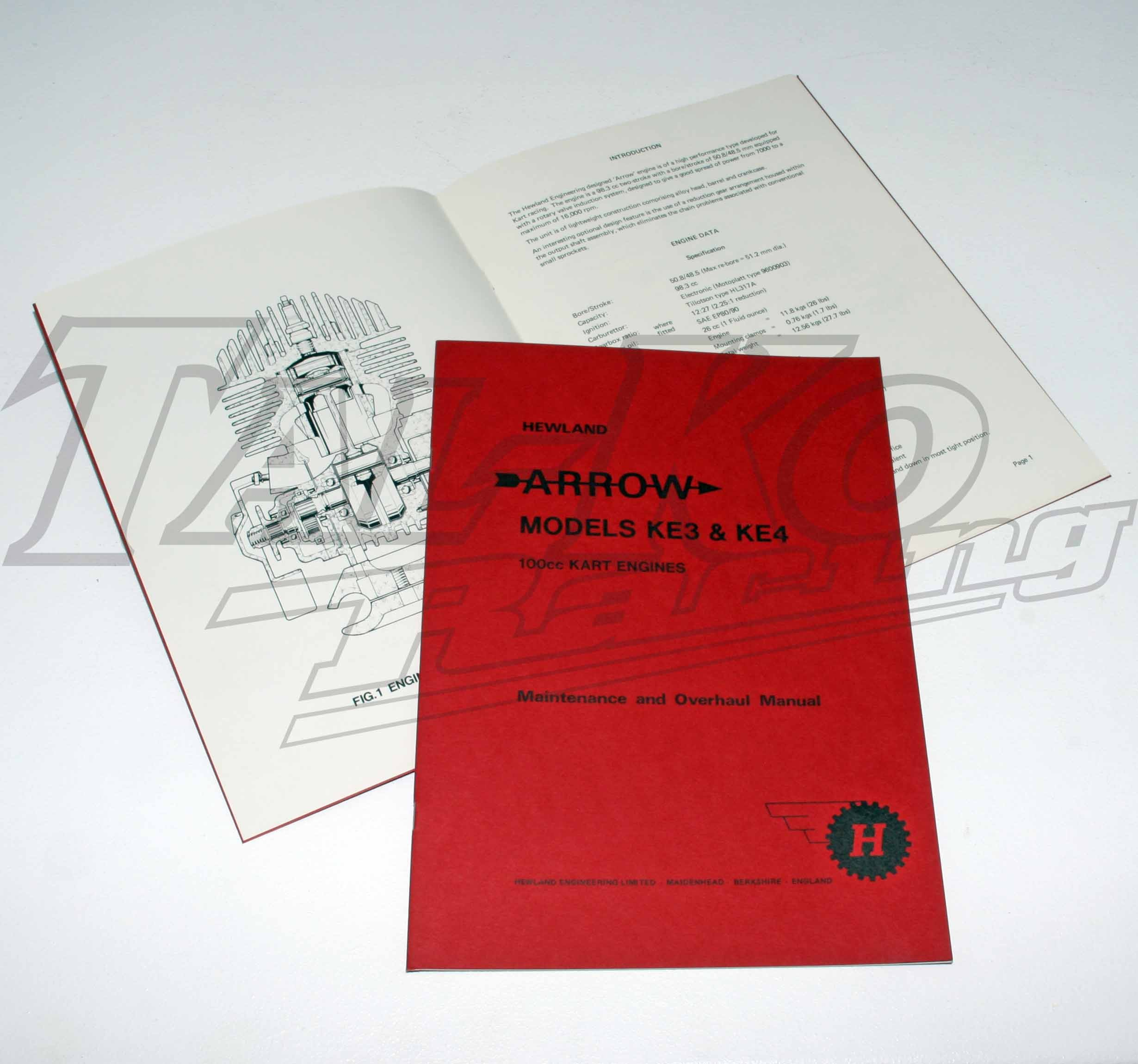 HEWLAND ARROW ORIGINAL MANUAL