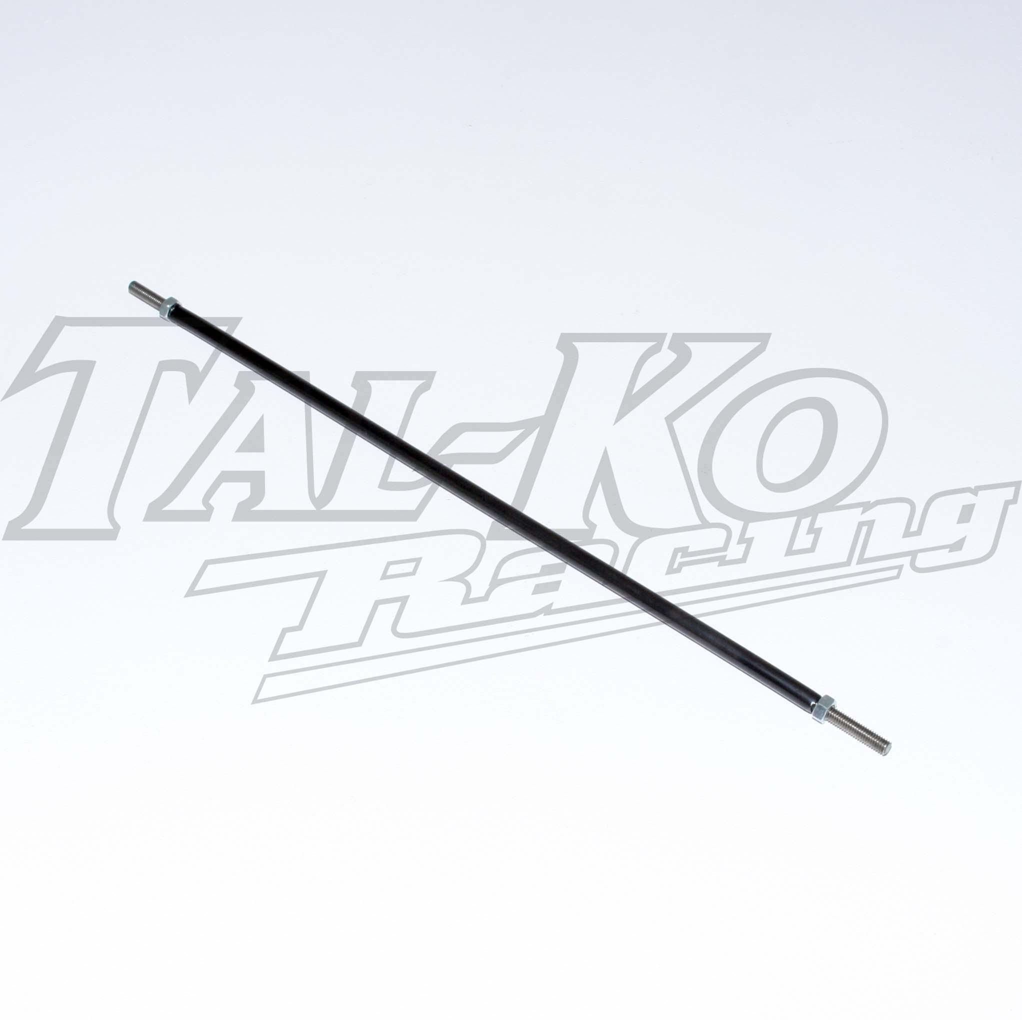 BRAKE ROD M6 x 360mm PLASTIC COVERED