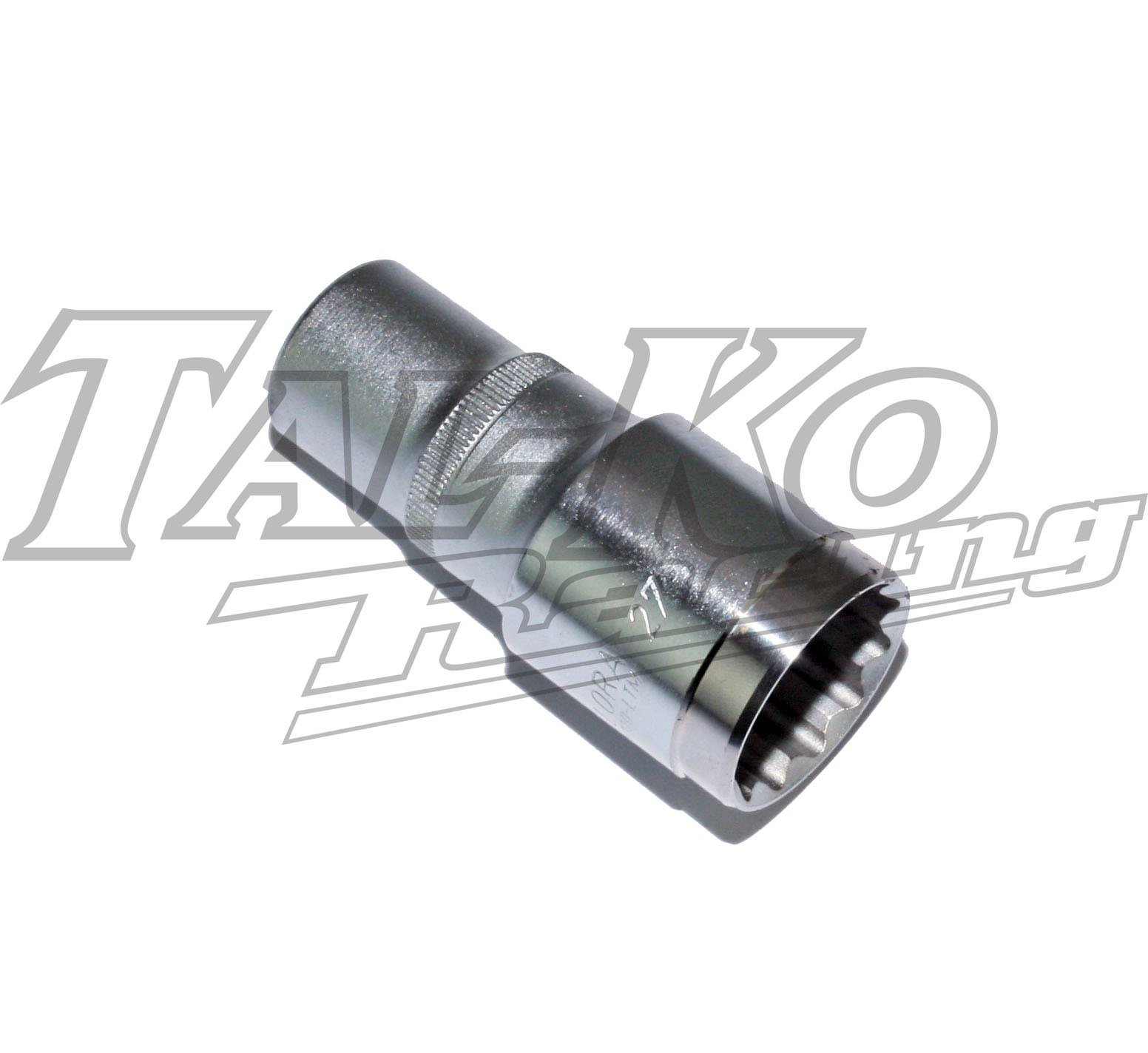 TKM BT82 LONG SOCKET 27mm A/F MACHINED FRONT