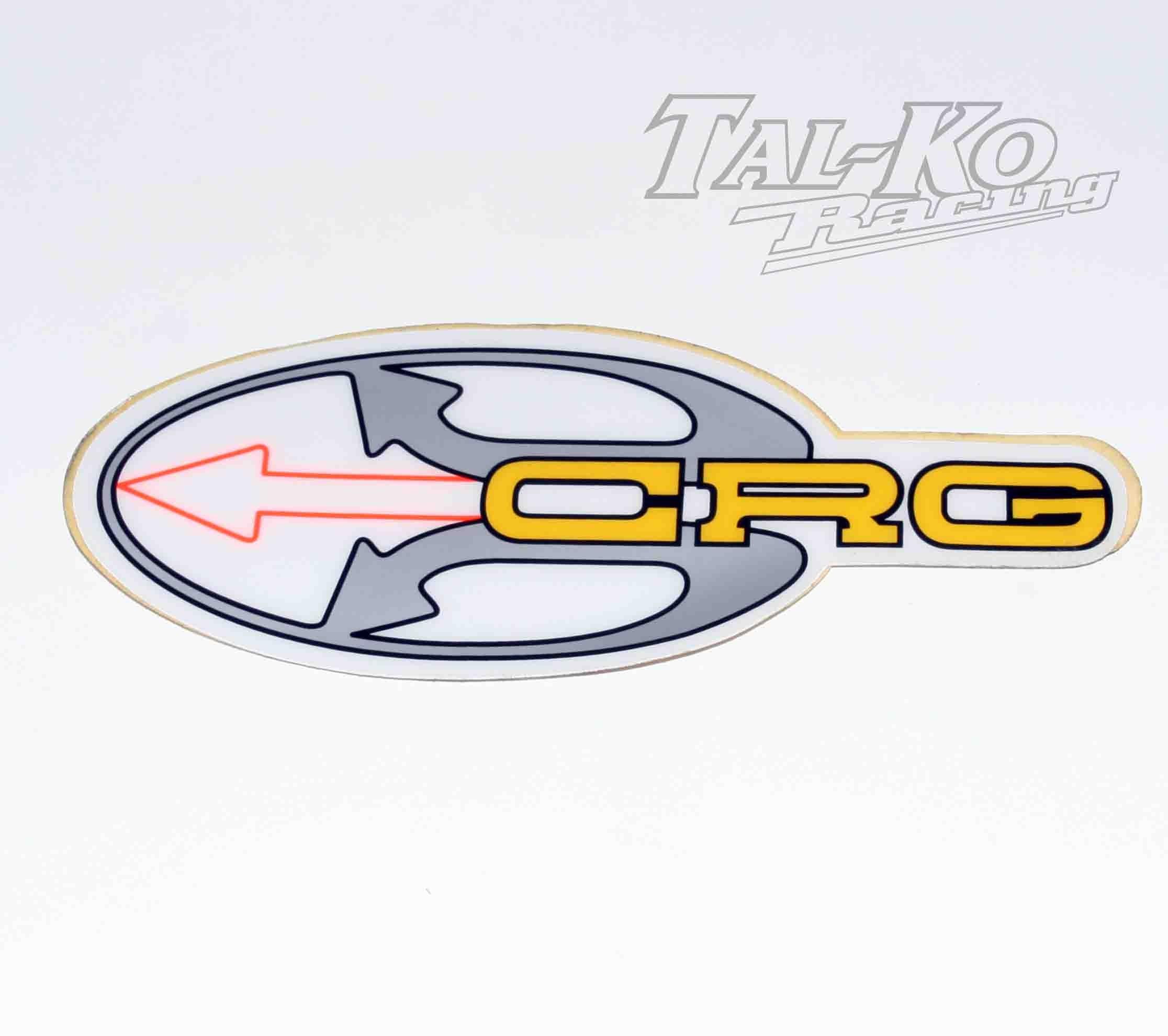 CRG STICKER DECAL ARROW 205 x 80
