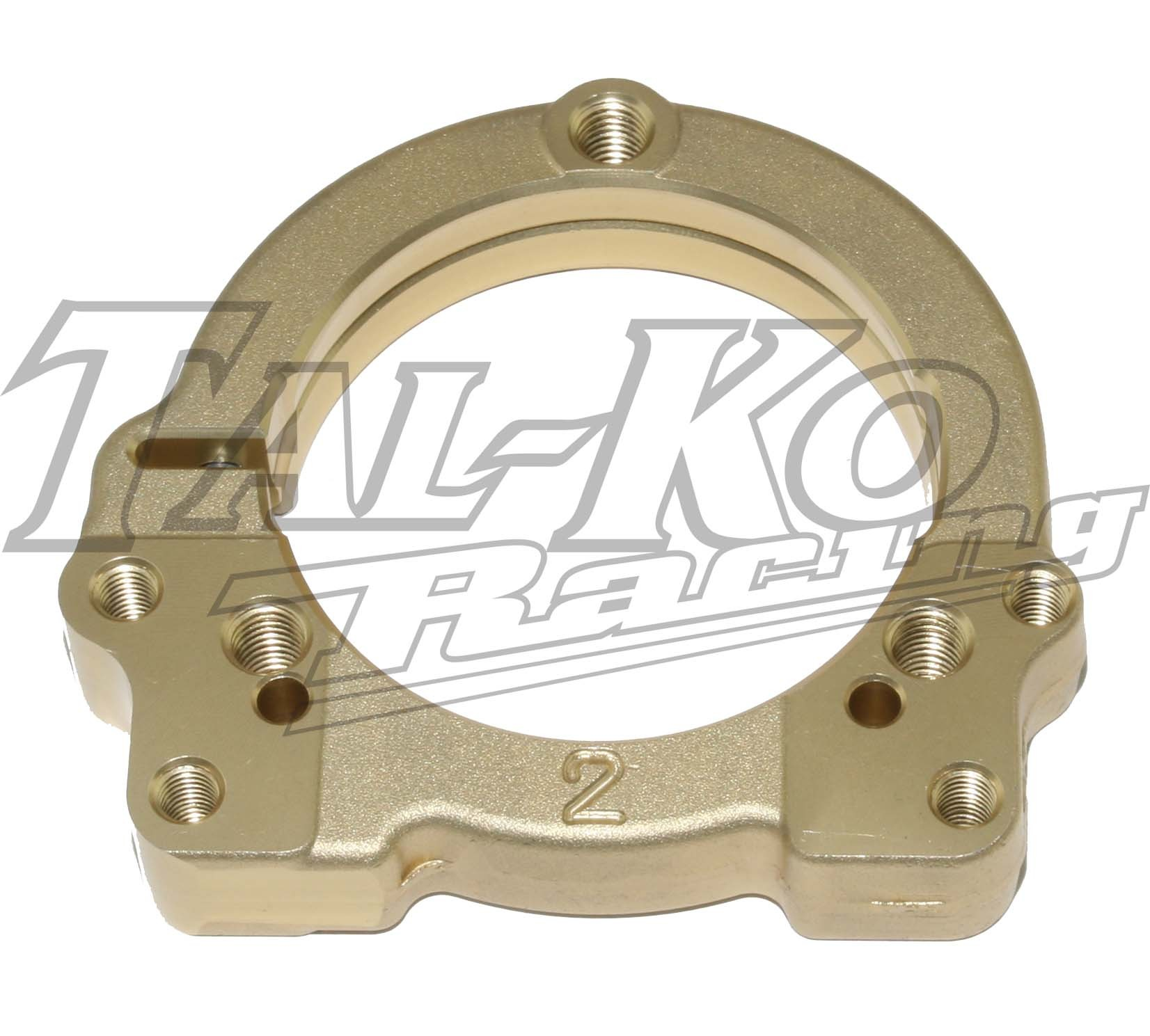 CRG REAR AXLE BEARING FLANGE 50MM ADJUST 2MM MAG
