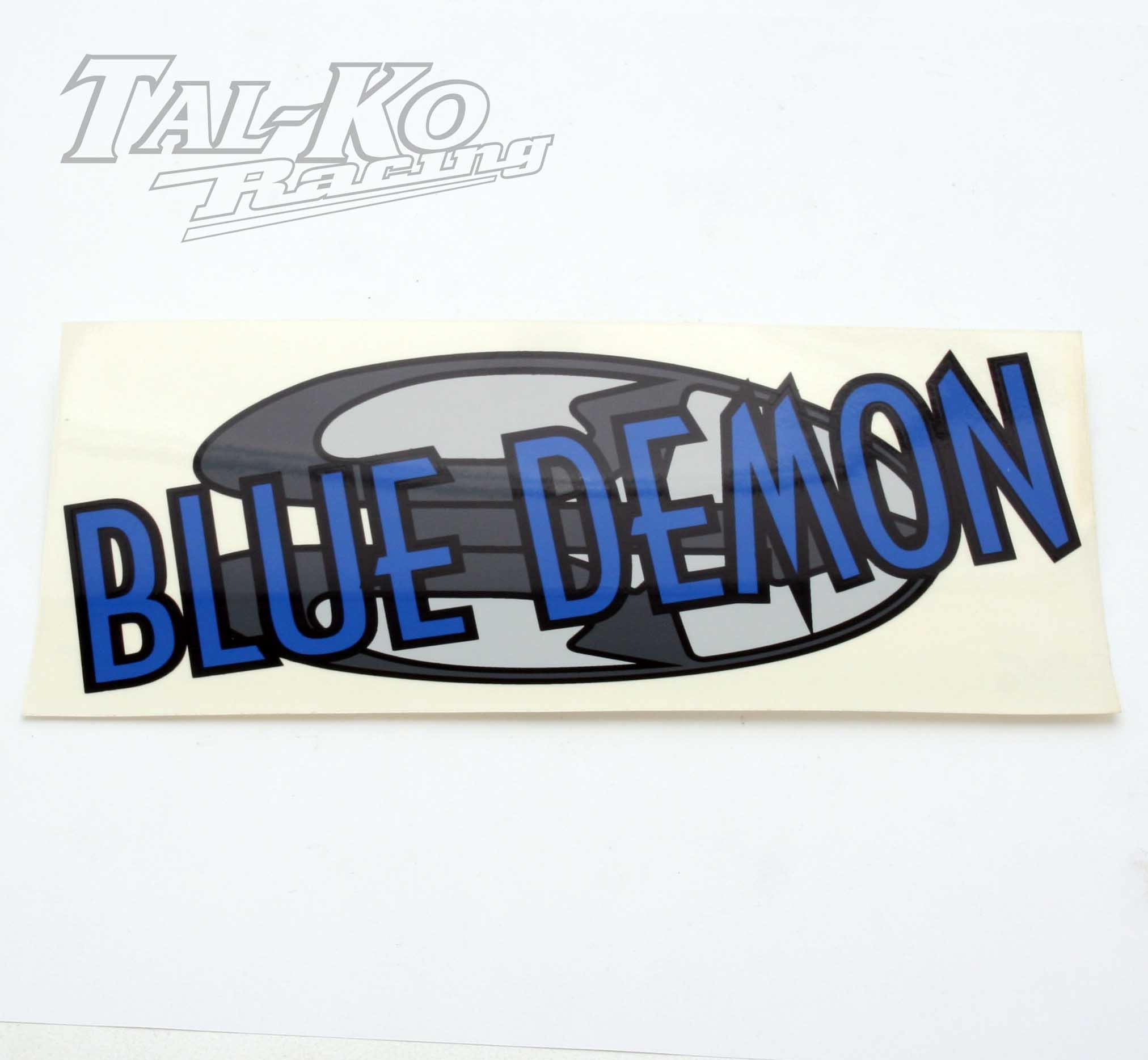 CRG BLUE DEMON STICKER DECAL 230 x 100
