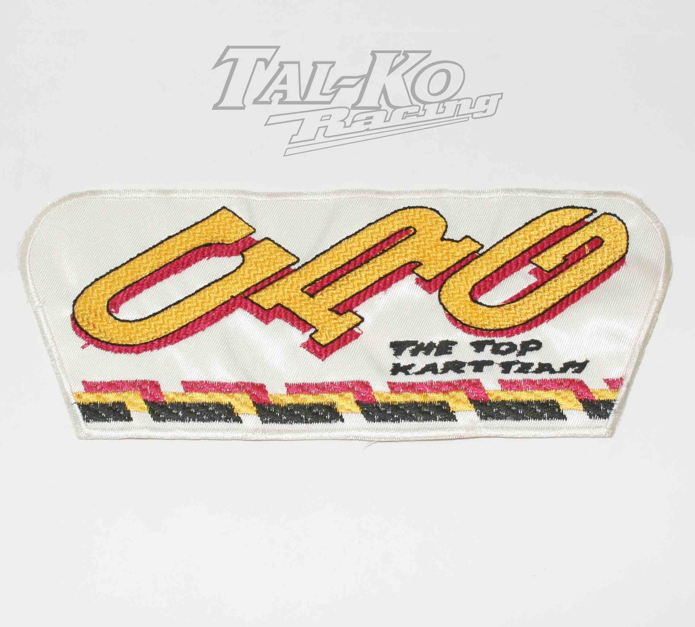 CRG CLOTH RACE SUIT BADGE 295 x 115