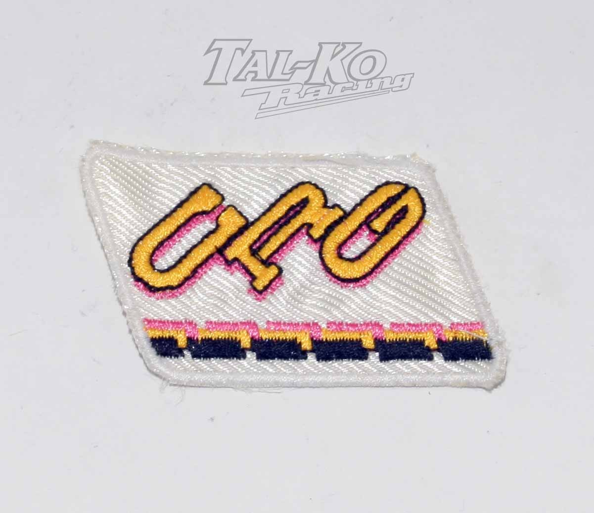 CRG CLOTH RACE SUIT BADGE 125 x 65