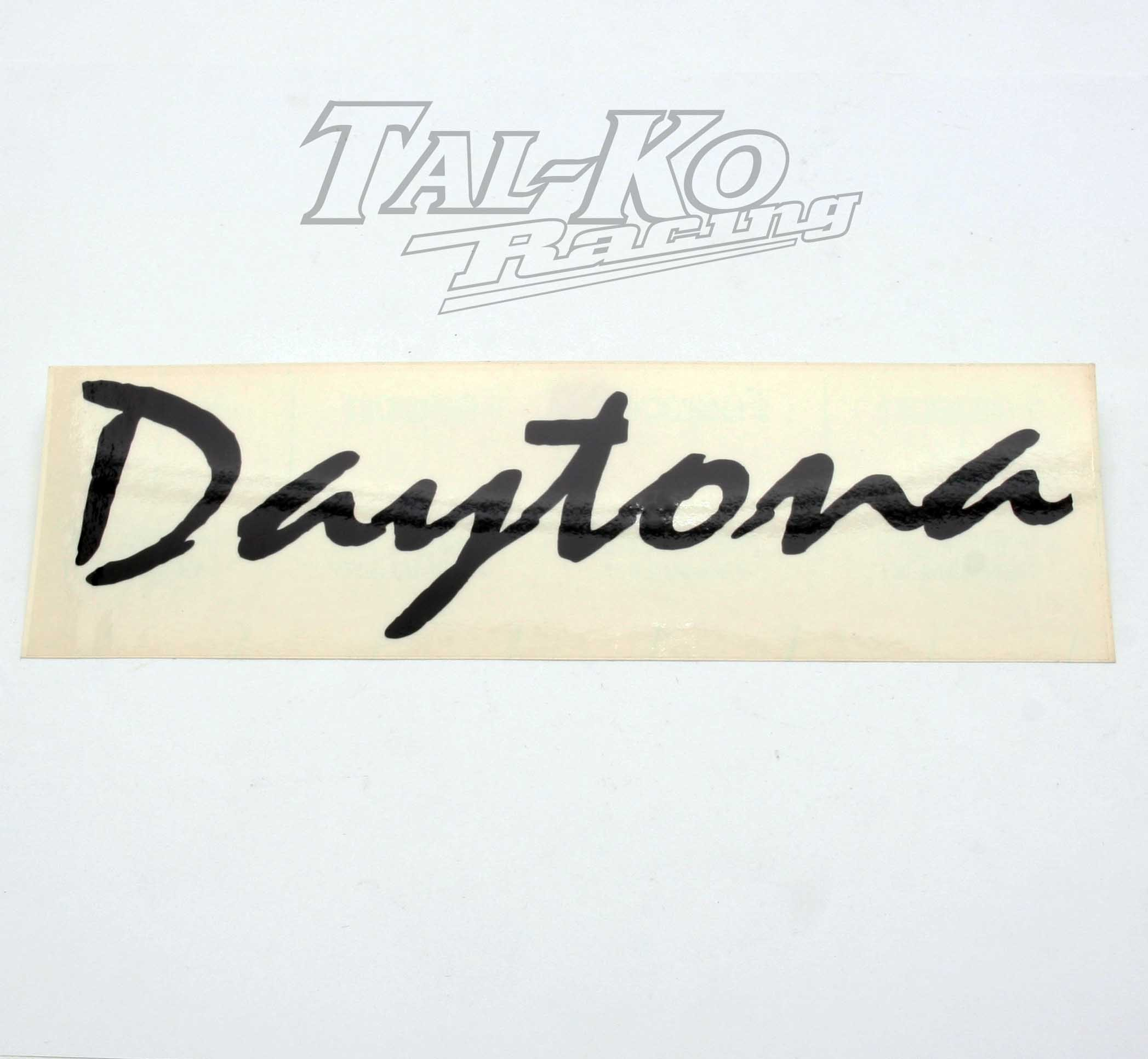 CRG DAYTONA STICKER DECAL 245 x 75