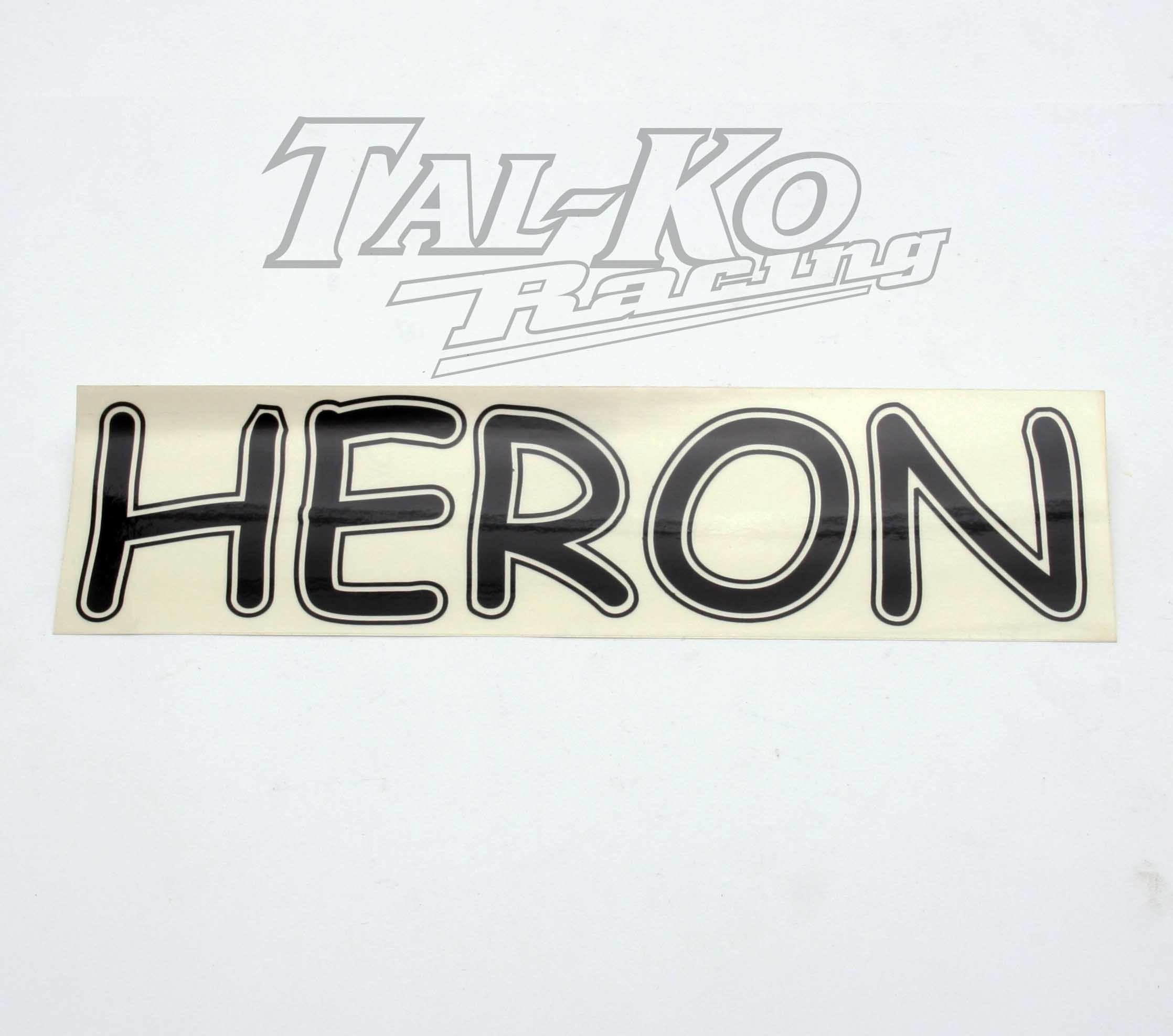 CRG HERON STICKER DECAL 250 x 65