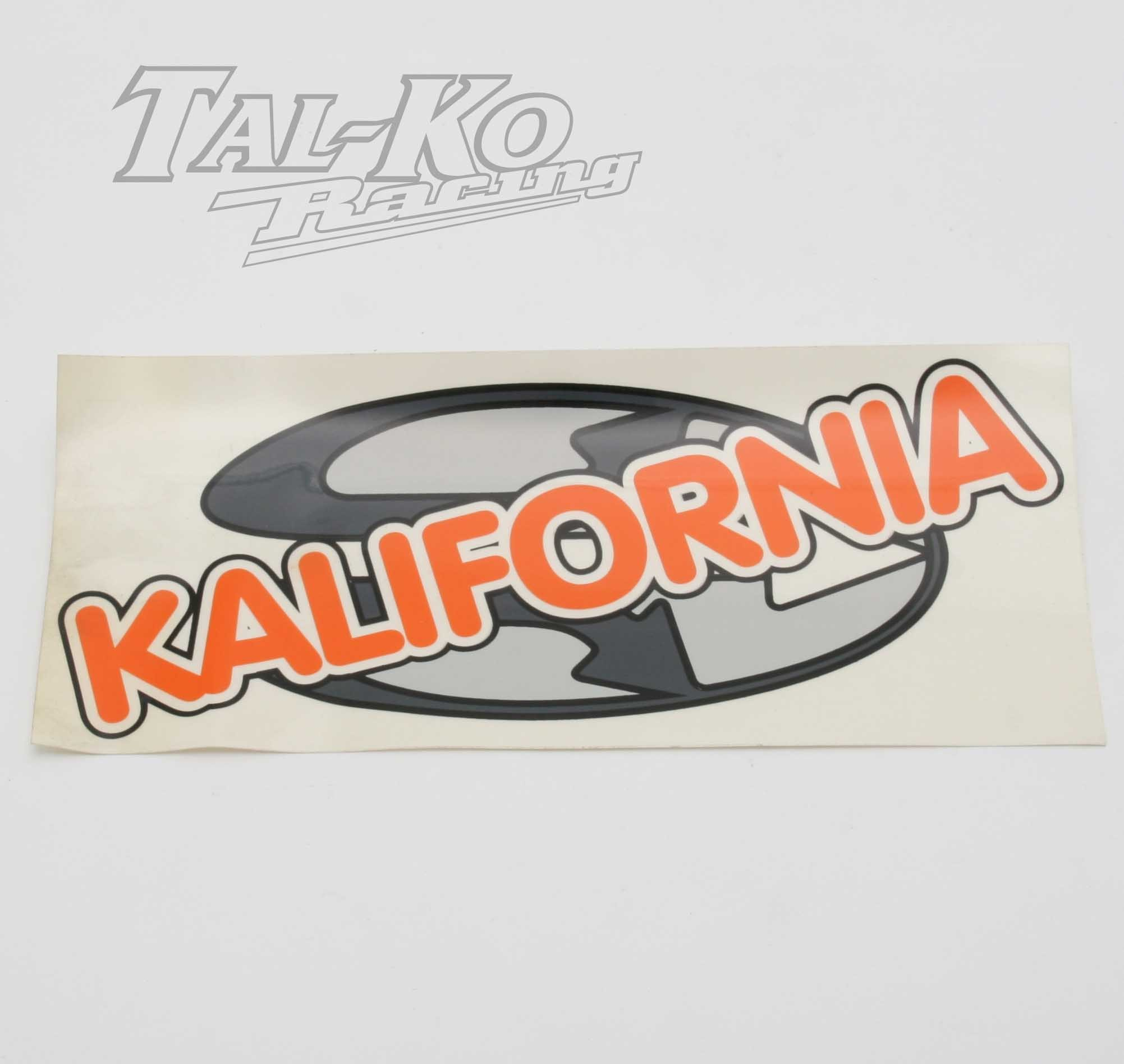 CRG KALIFORNIA STICKER DECAL 230 x 100