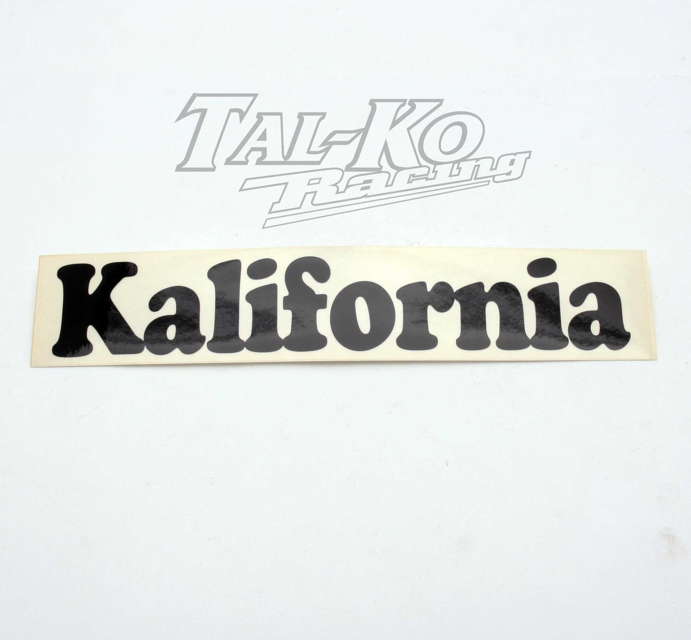 CRG KALIFORNIA STICKER DECAL 250 x 50