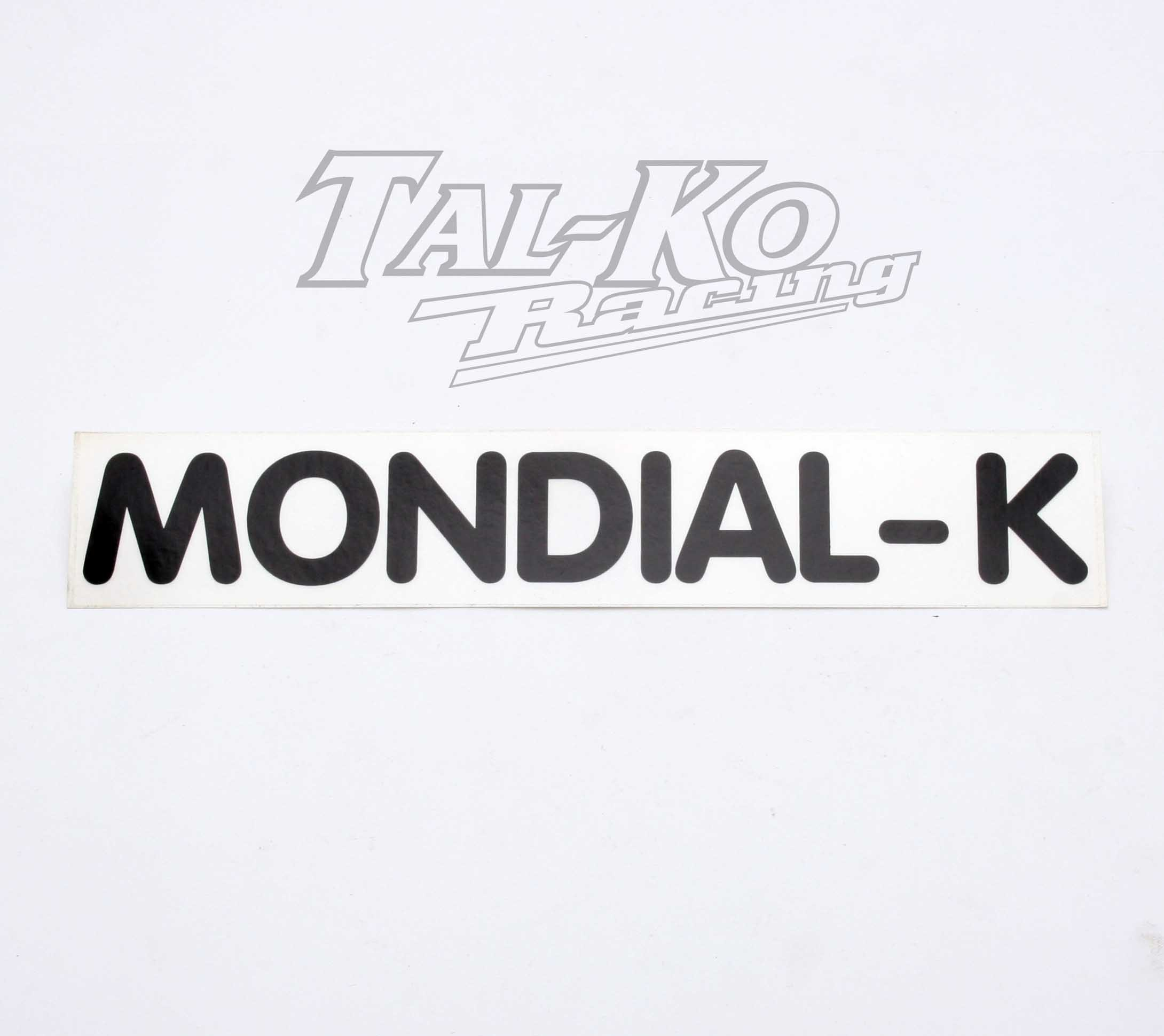CRG MONDIAL-K STICKER DECAL 245 x 45
