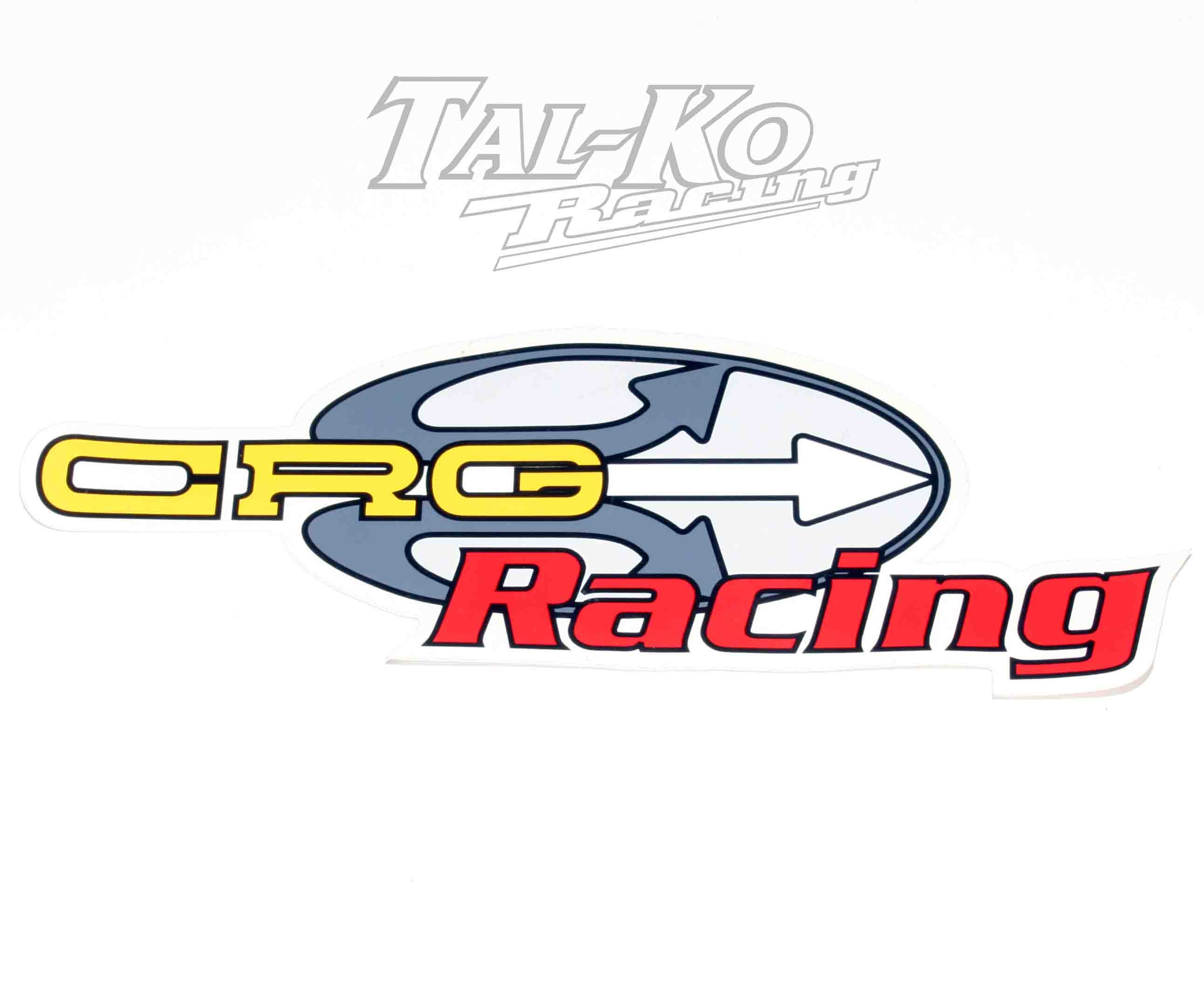 CRG STICKER DECAL RACING 205 x 85