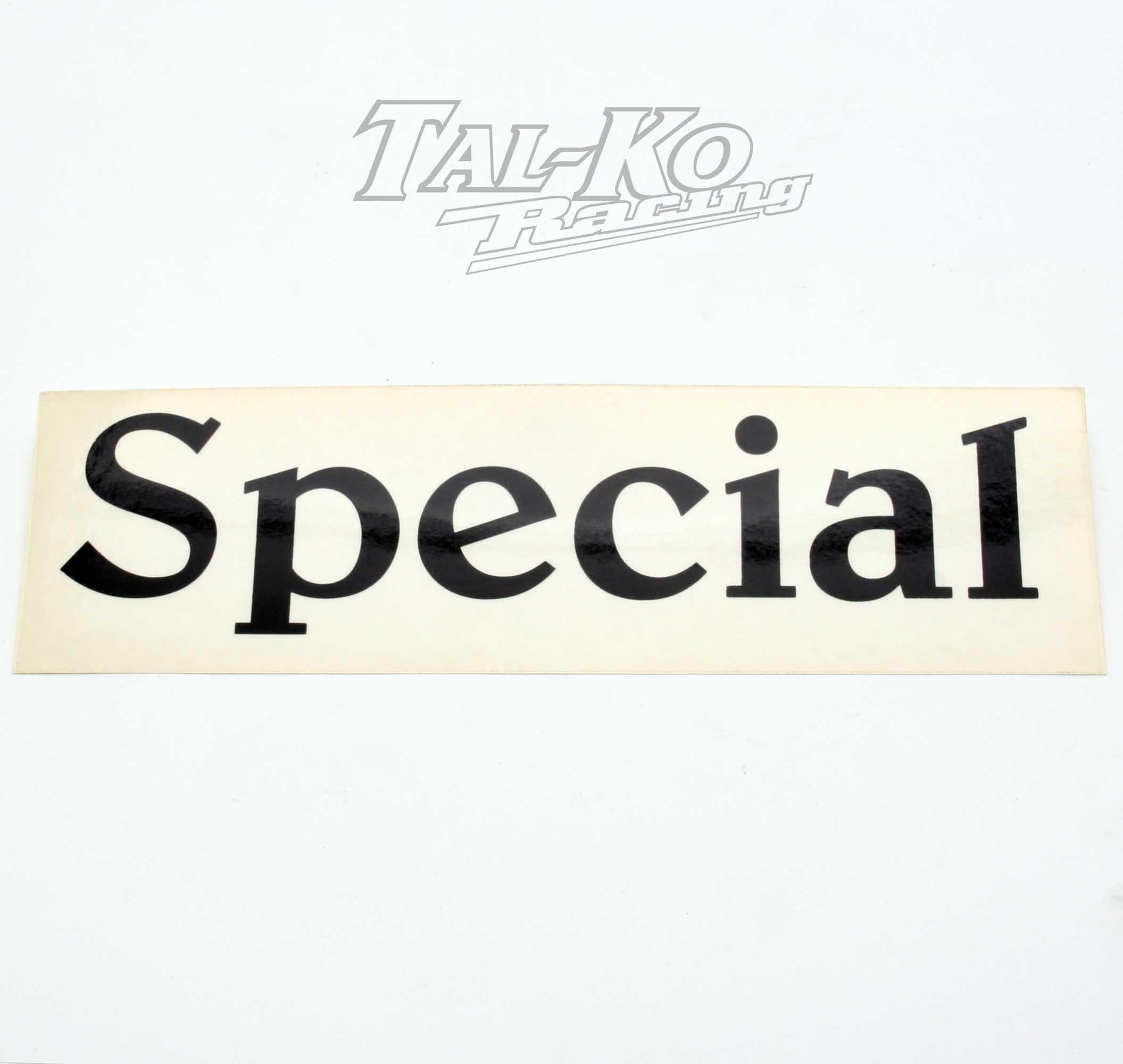 CRG SPECIAL STICKER DECAL 250 x 75