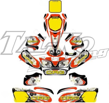 CRG 2016 NA2 BODYWORK STICKER KIT