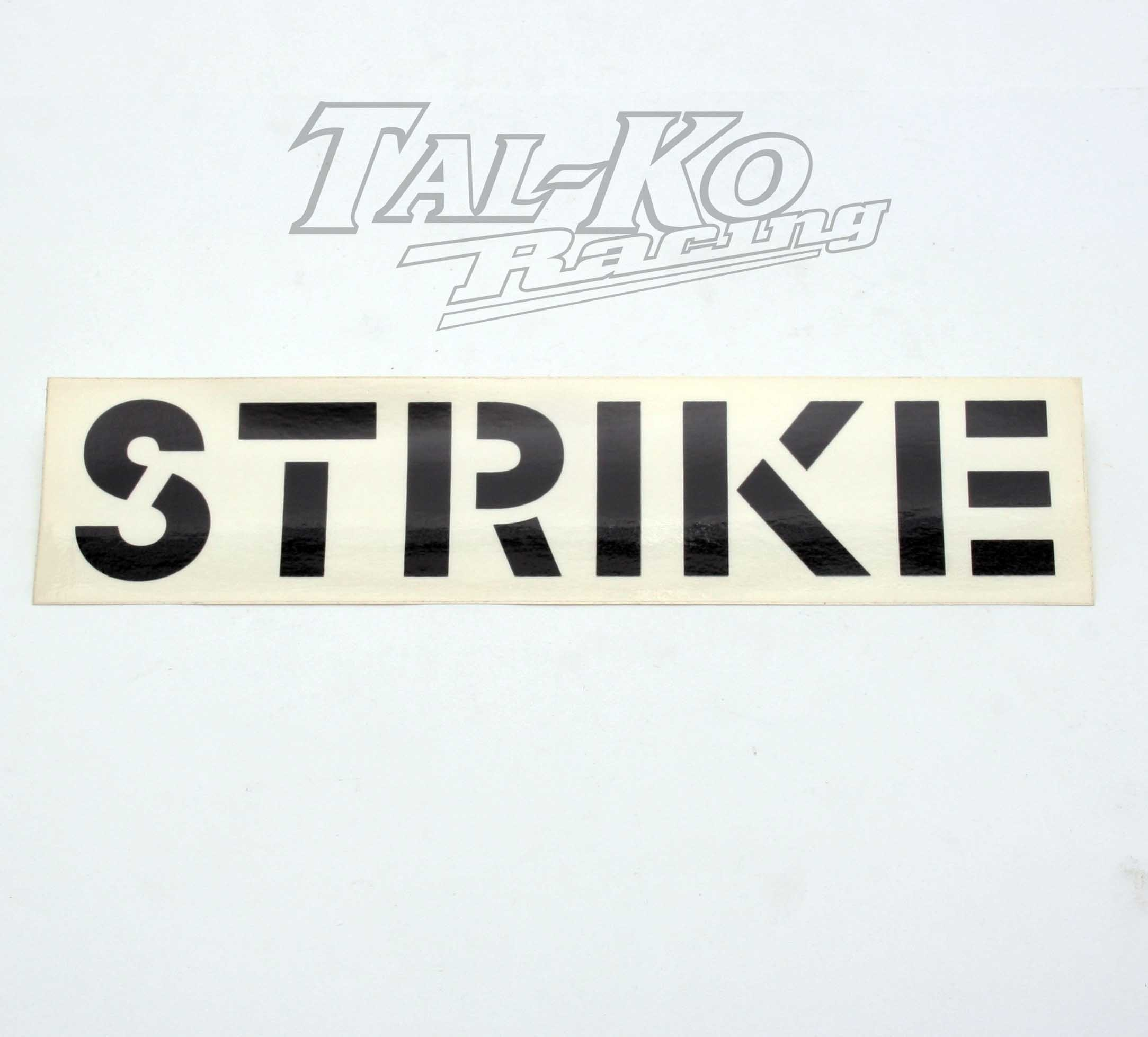 CRG STRIKE STICKER DECAL 250 x 57