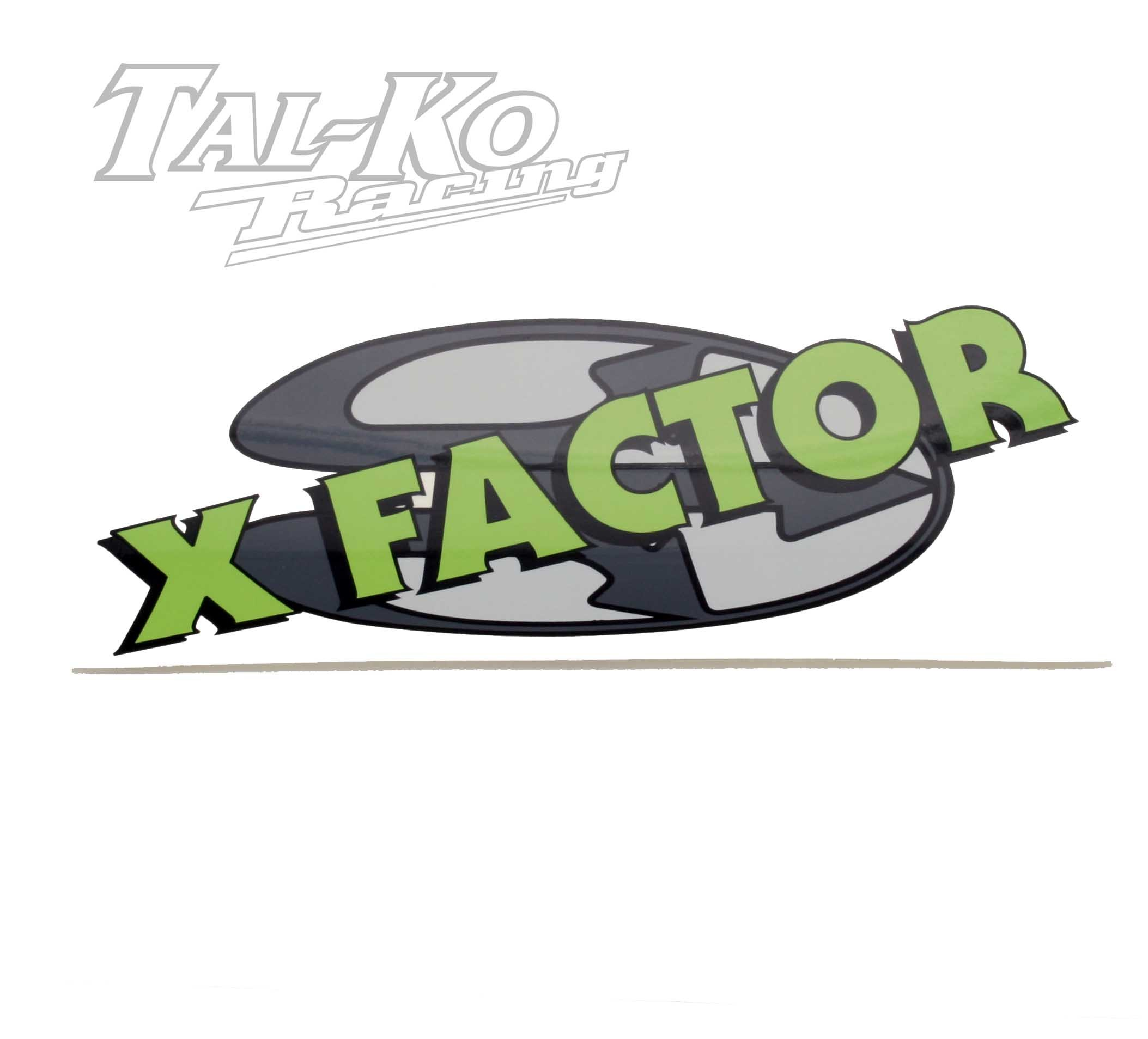 CRG X FACTOR STICKER DECAL 230 x 100