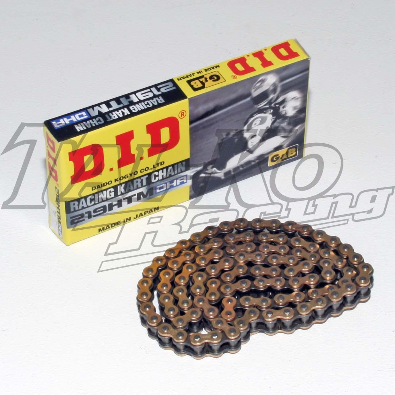 DID 219 CHAIN GOLD BLACK DHA 112L