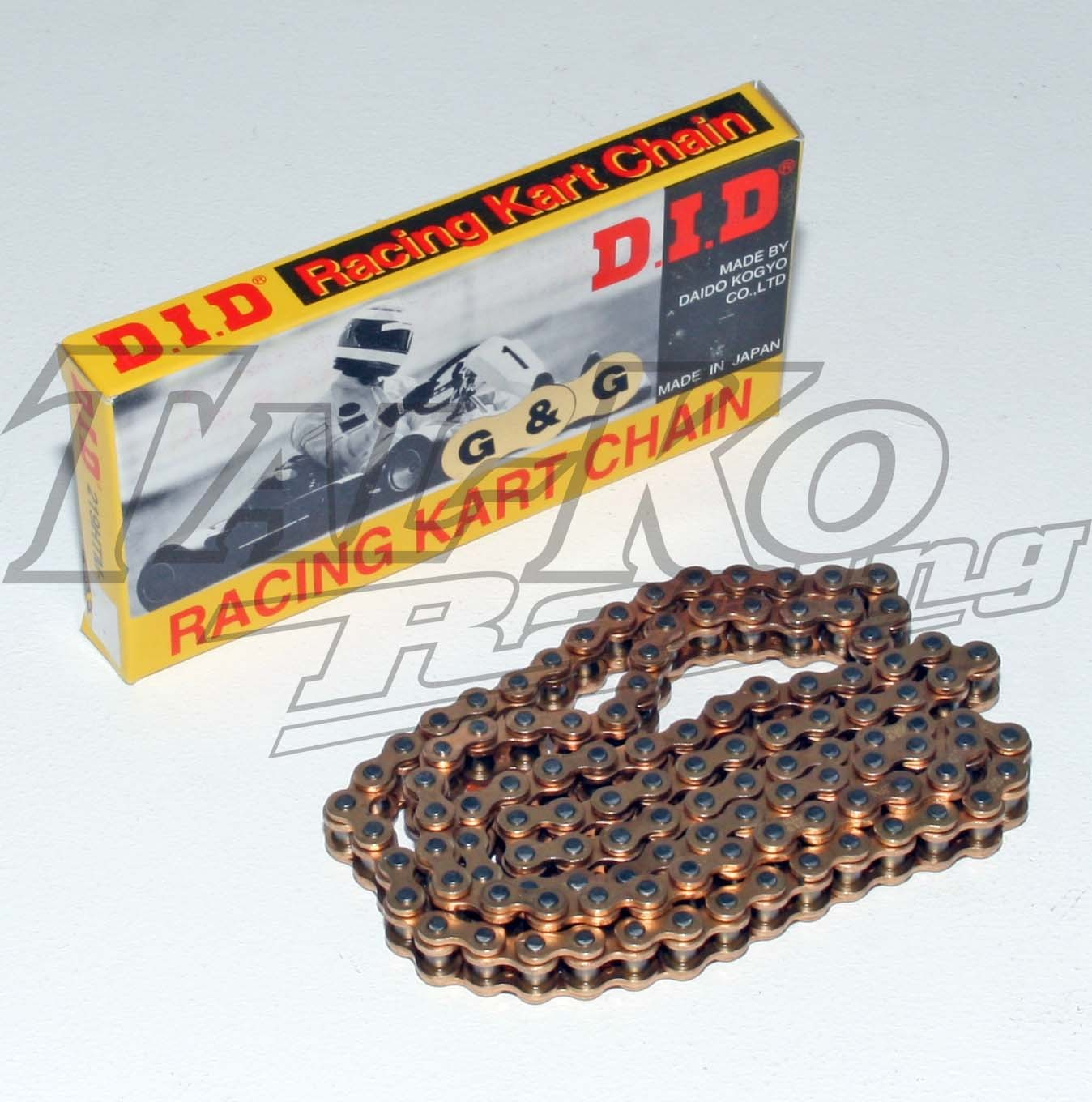 DID 219 CHAIN GOLD GOLD 100L