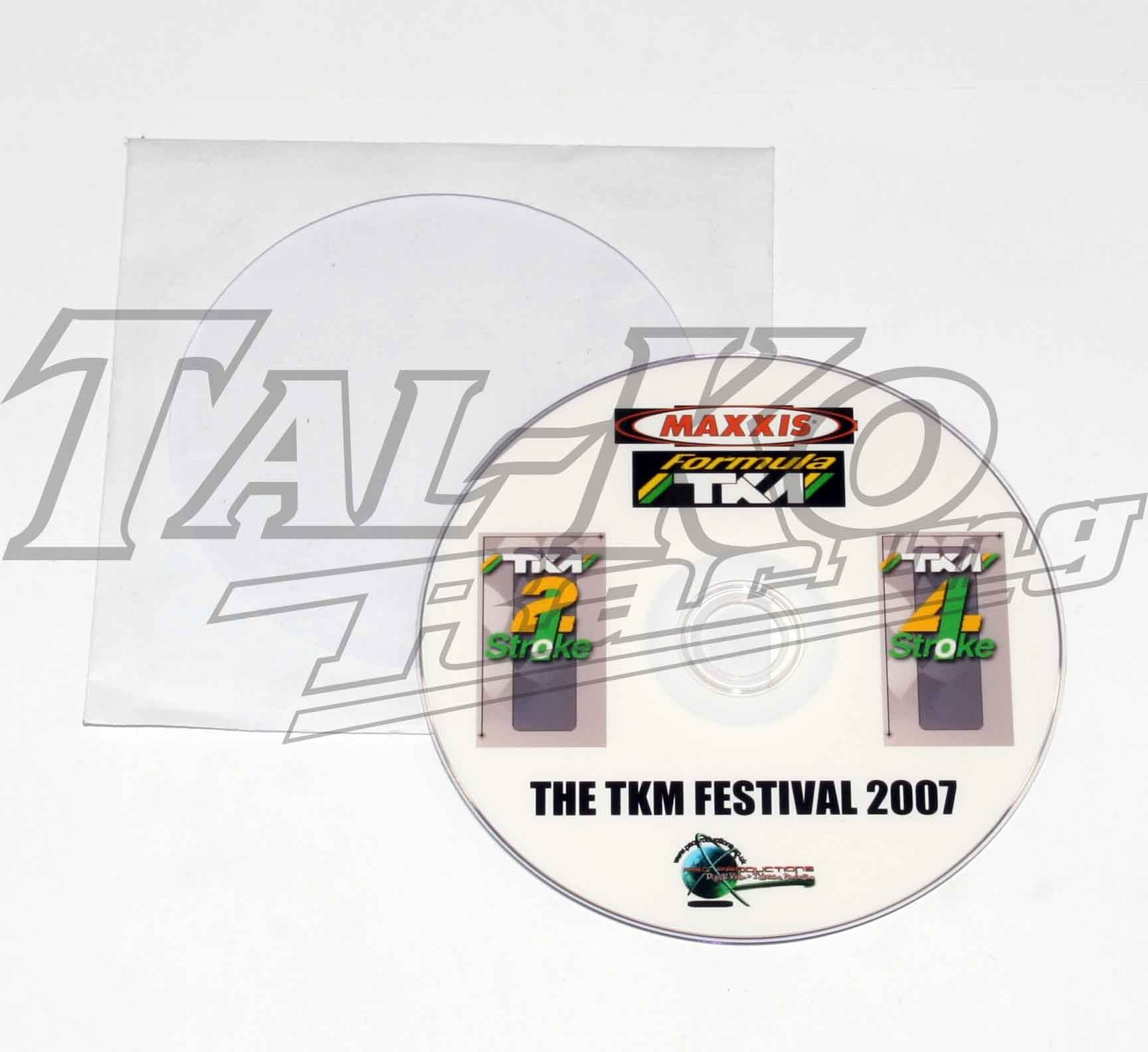 2007 MAXXIS TKM FESTIVAL DVD