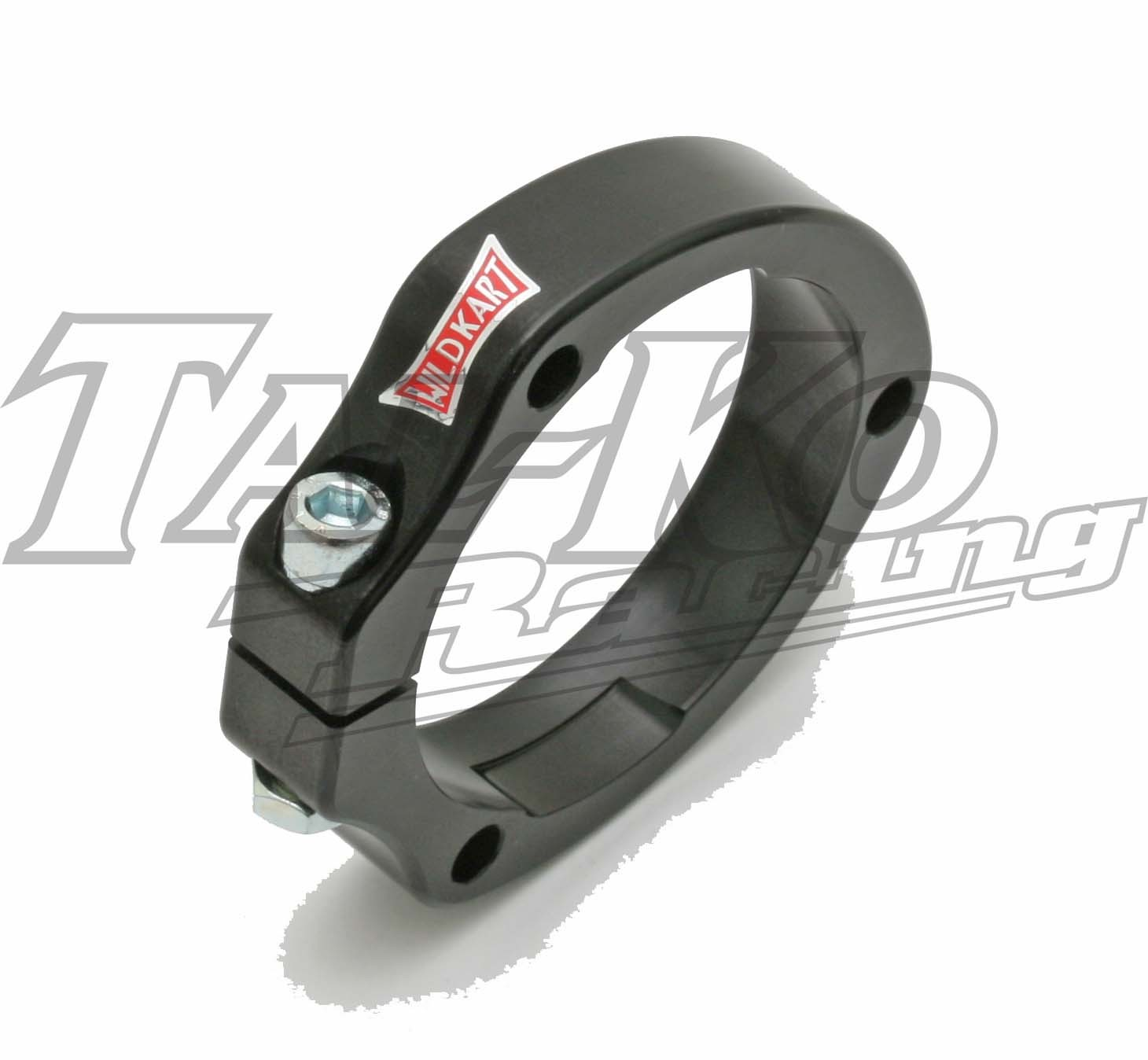 WK REAR AXLE BEARING FLANGE 40/50MM 3H BLACK