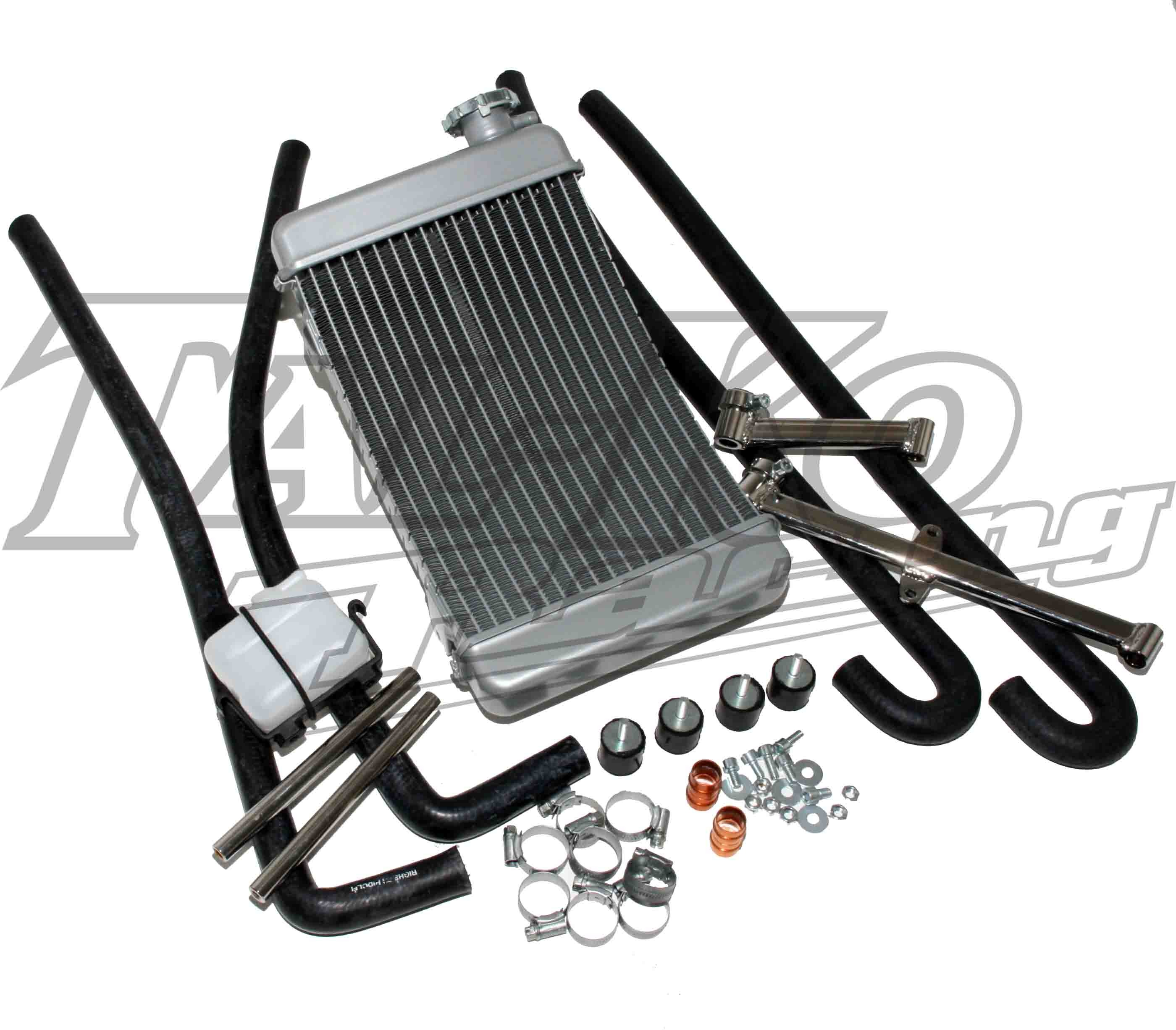 TKM K4S CURVED ENDURO RADIATOR KIT COMPLETE