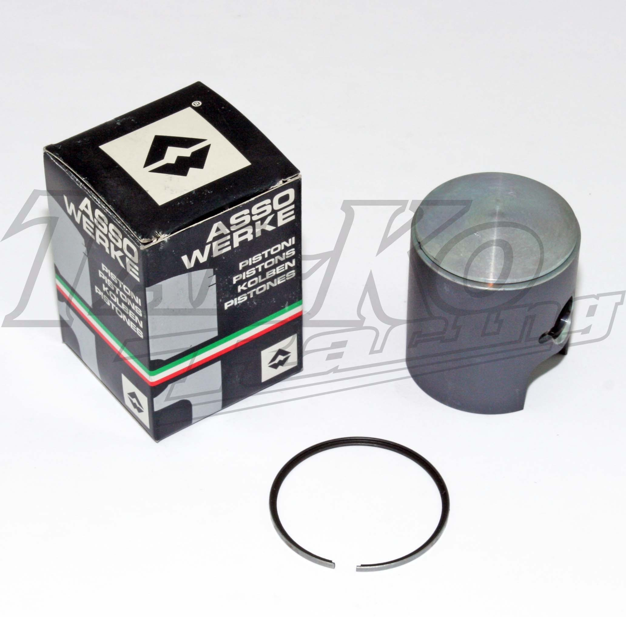 TT PISTON COATED +  RING  49.93mm