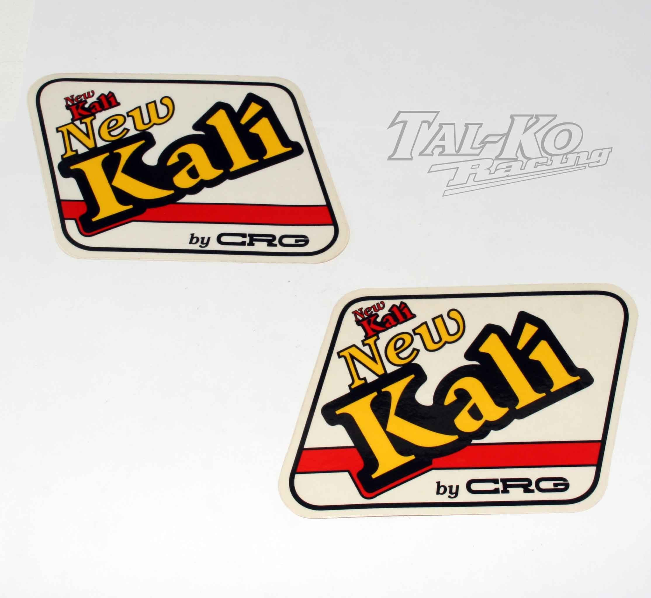 CRG KALI STICKER DECAL TANK KIT RED
