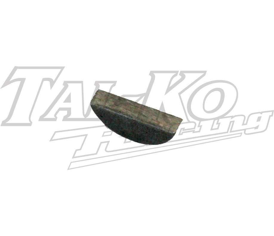 WOODRUFF KEY (13 DIA X 3.0mm Thick)