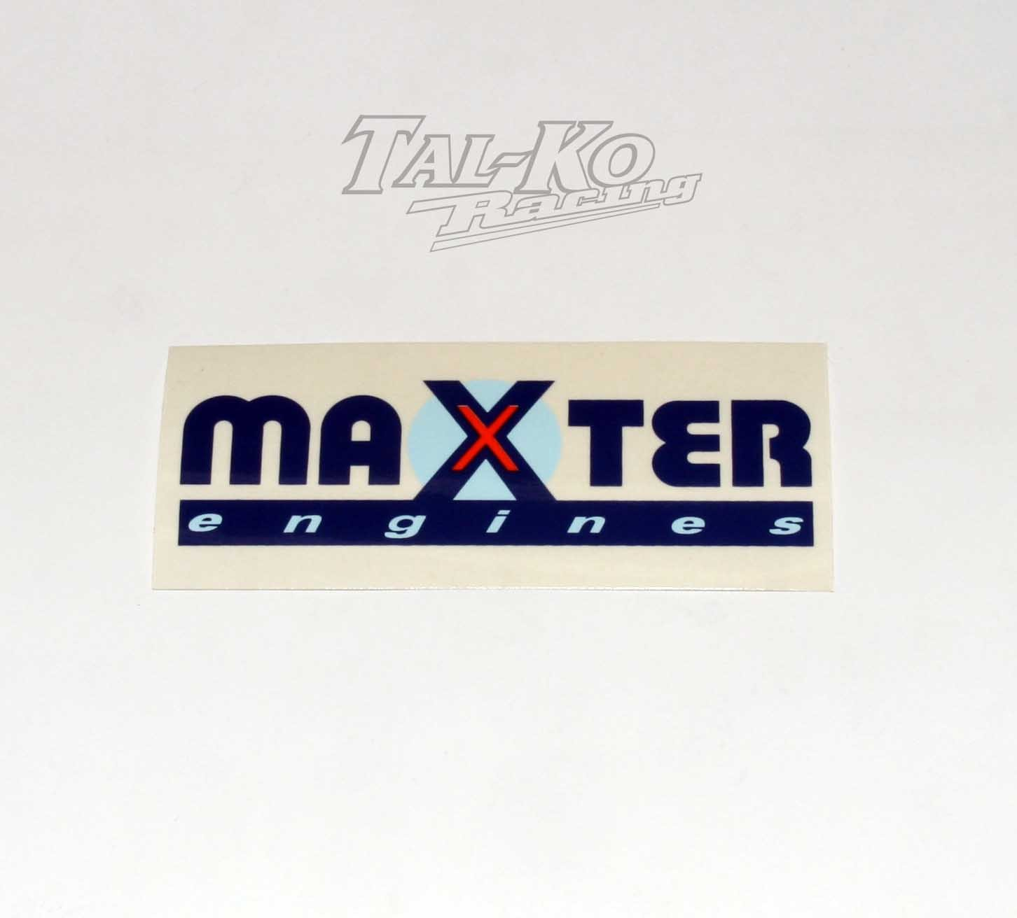 MAXTER ENGINE STICKER DECAL 130 x 55