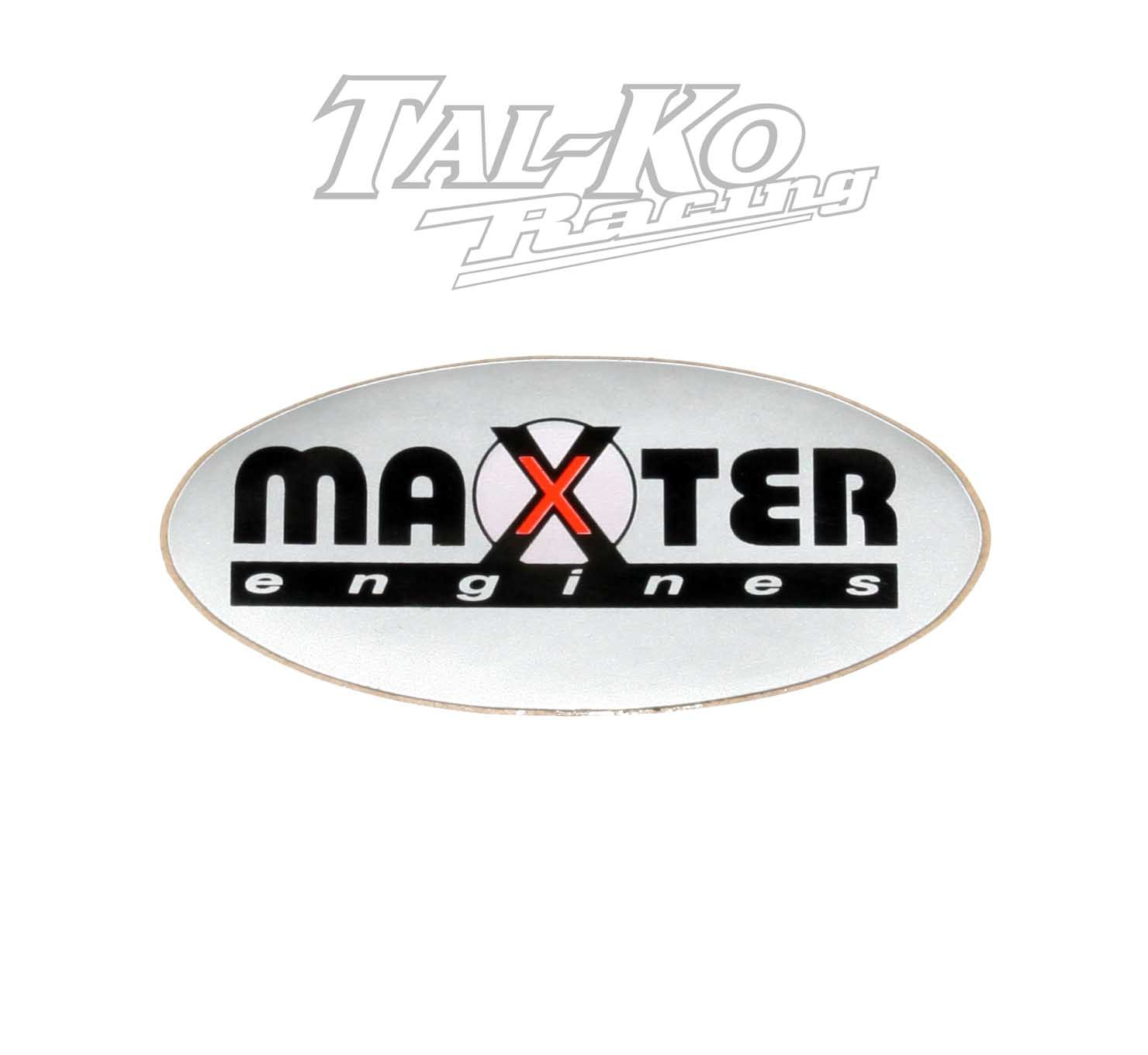 MAXTER ENGINE STICKER DECAL 82 x 38