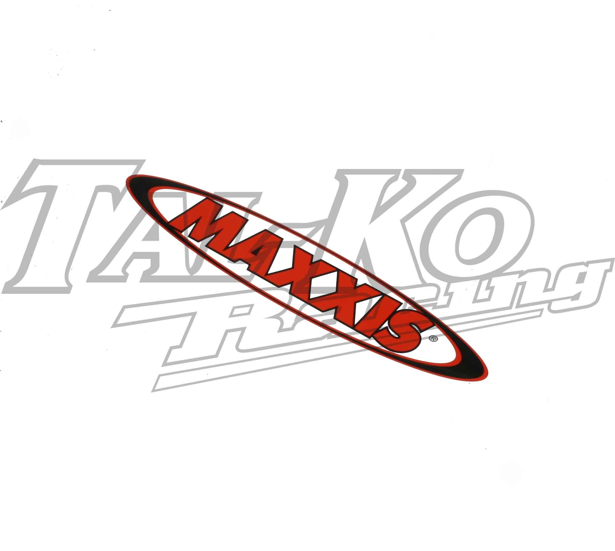 MAXXIS TYRE STICKER DECAL 1180 x 230  TRAILER