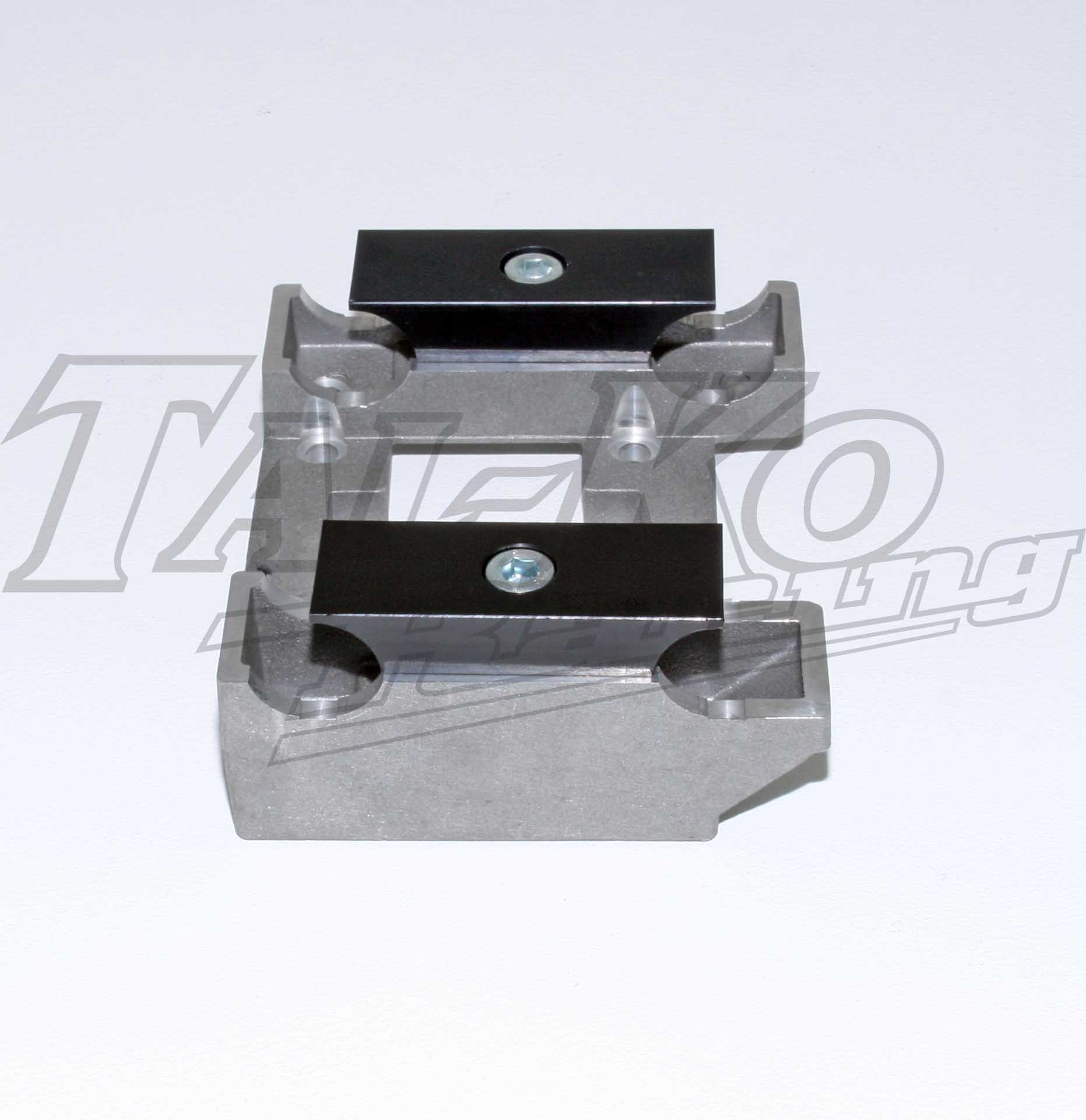 ENGINE MOUNT PRE-DRILLED COMPLETE FLUSH 32 X 92MM