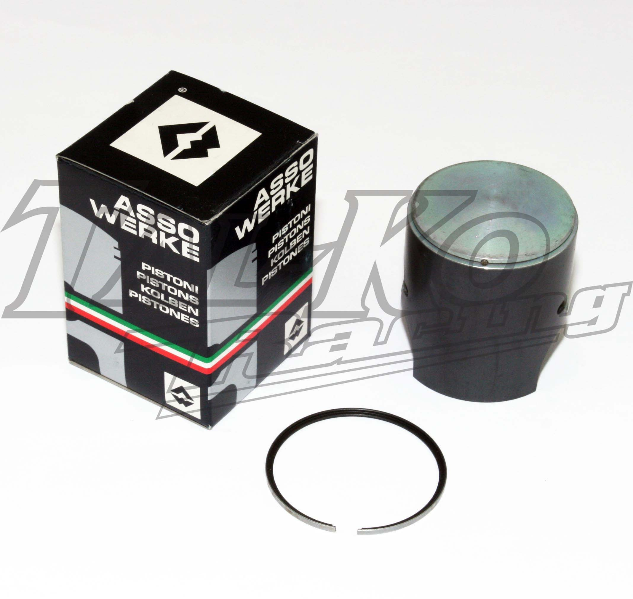 PP PISTON COATED +  RING  49.98mm