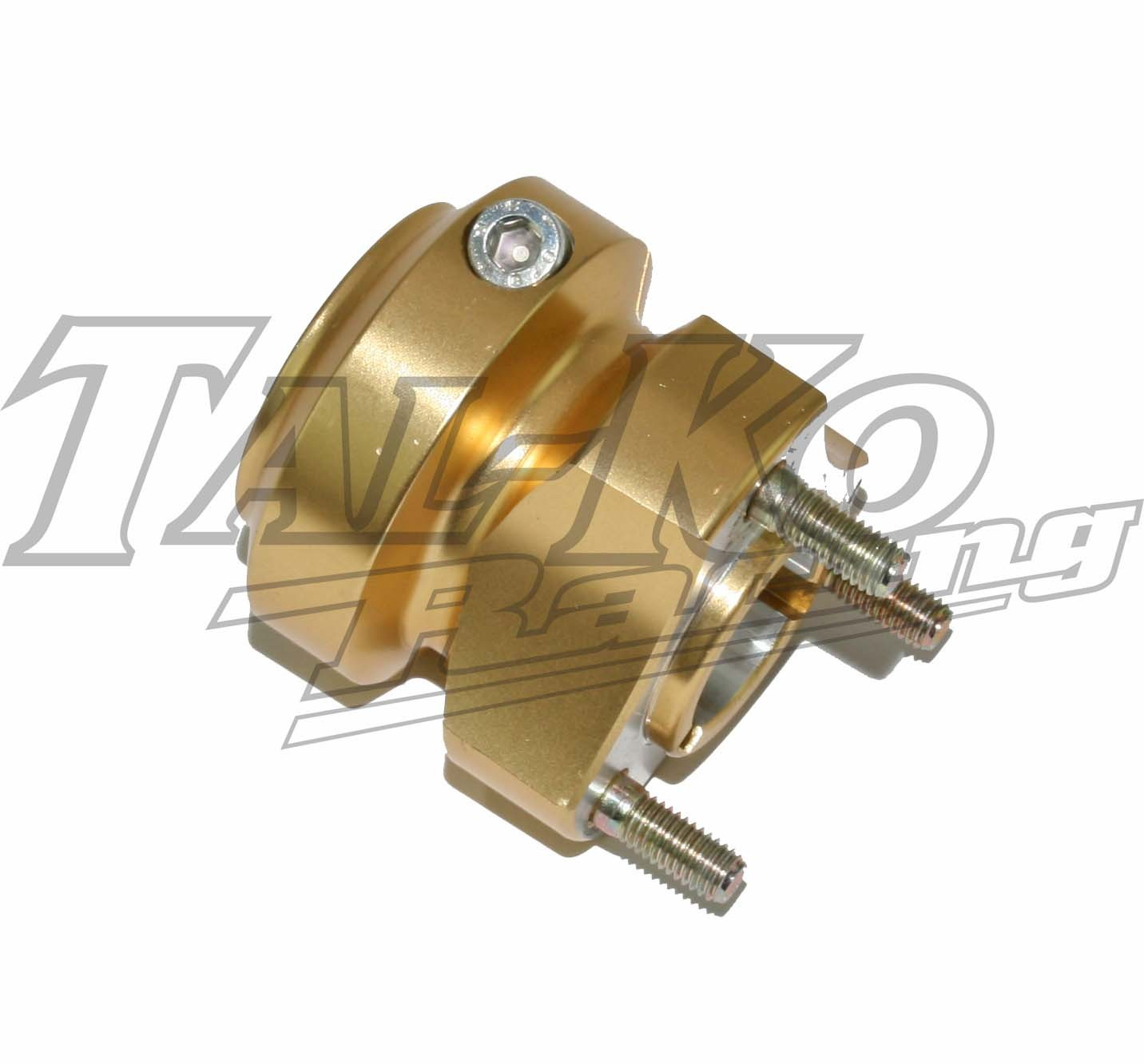 R/R REAR WHEEL HUB SHORT 30mm x 67 GOLD