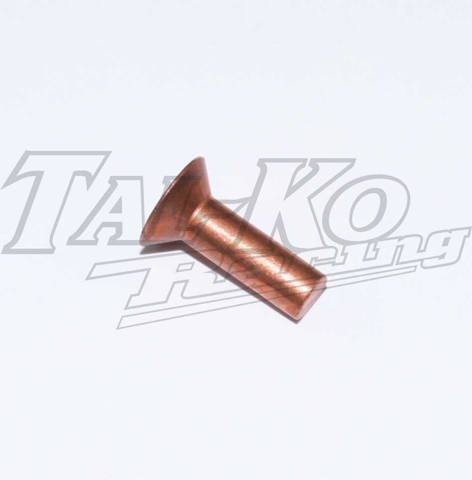 RIVET CSK COPPER M8 X 26