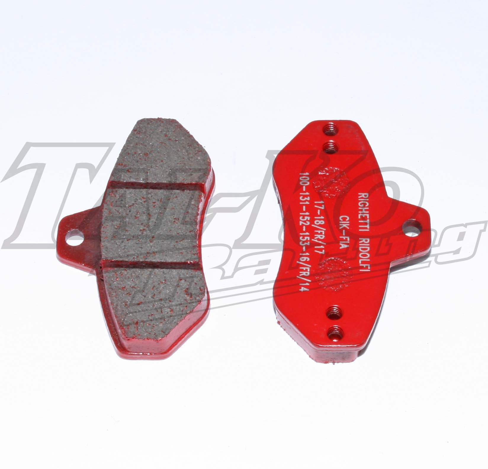R/R SPEED REAR BRAKE PAD SET 2