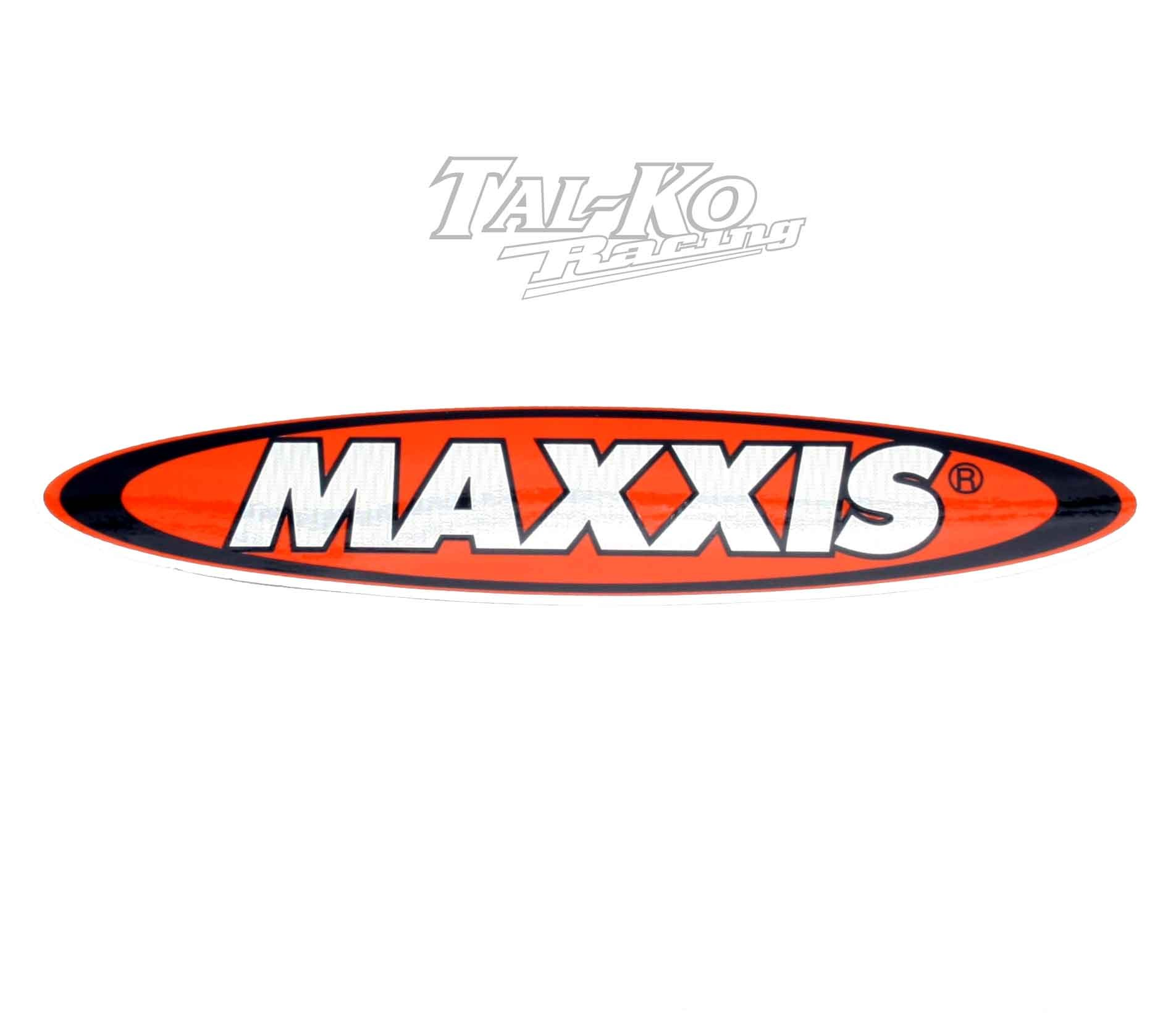 MAXXIS TYRE STICKER DECAL 200 x 40