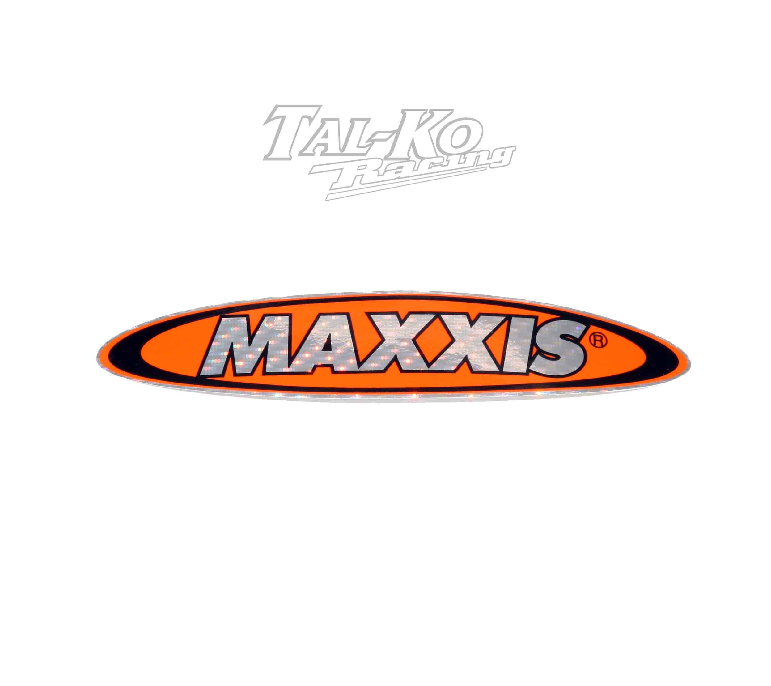 MAXXIS TYRE STICKER DECAL 150 x 30  SPARKLE