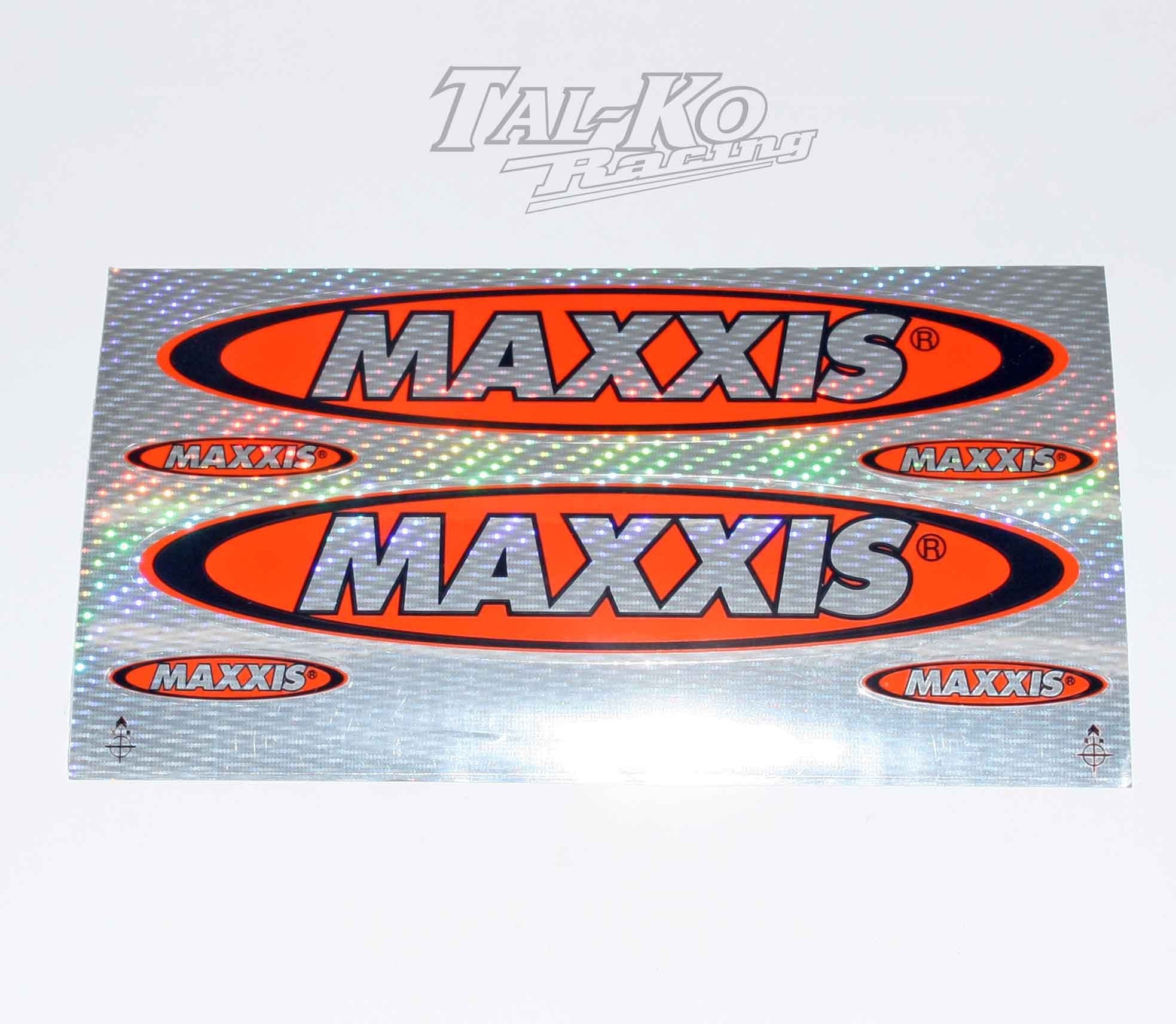 MAXXIS TYRE STICKER DECAL SET 6  SPARKLE