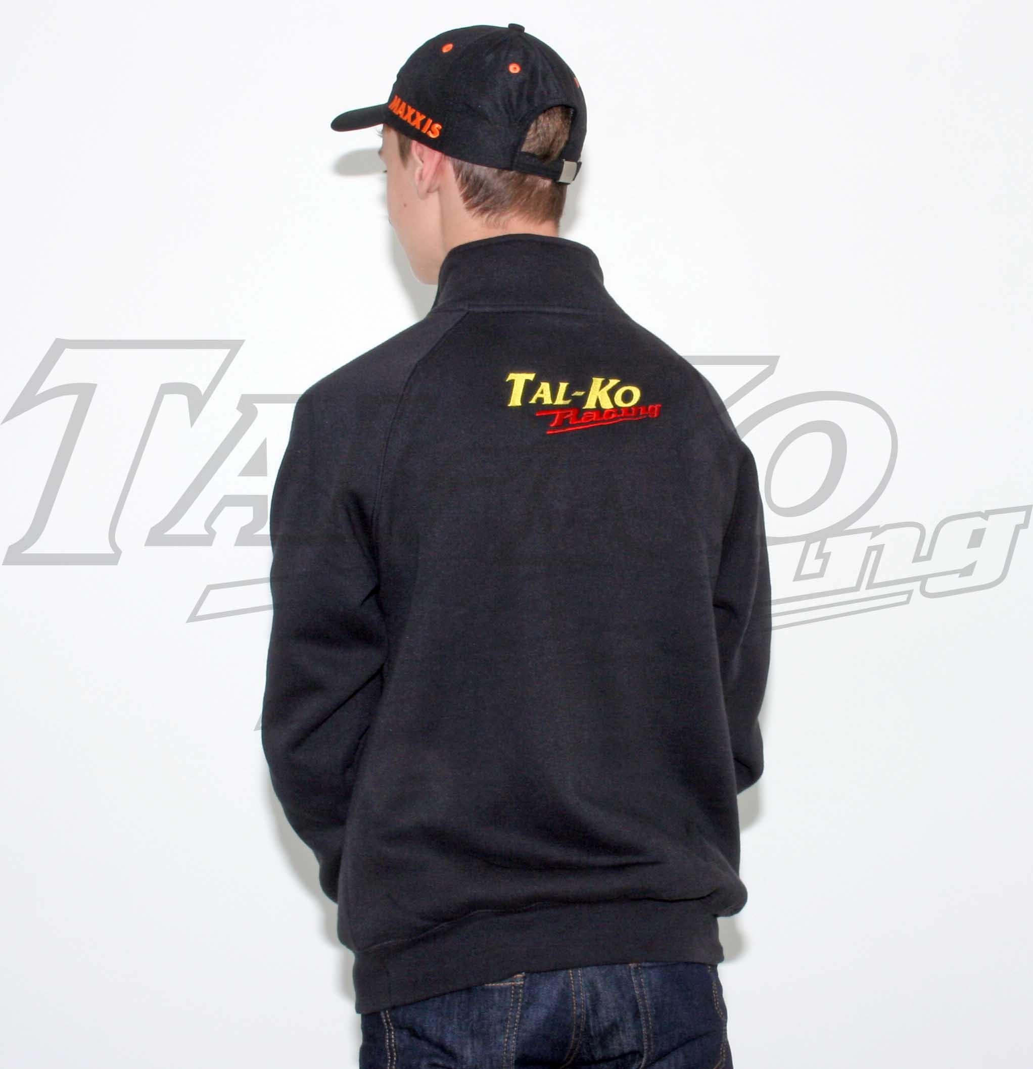 TAL-KO RACING SWEAT SHIRT ZIP NECK S
