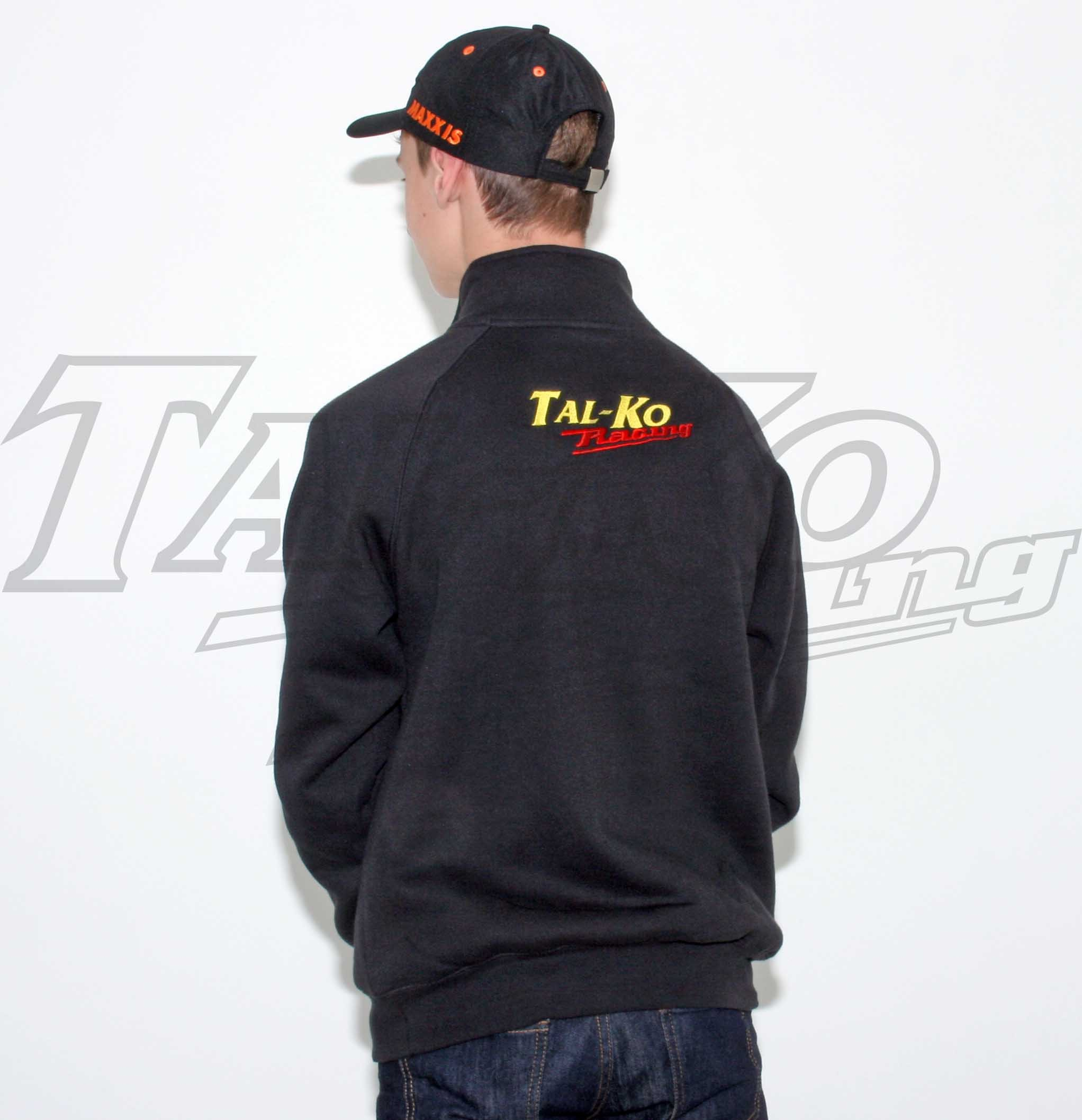 TAL-KO RACING SWEAT SHIRT ZIP NECK M