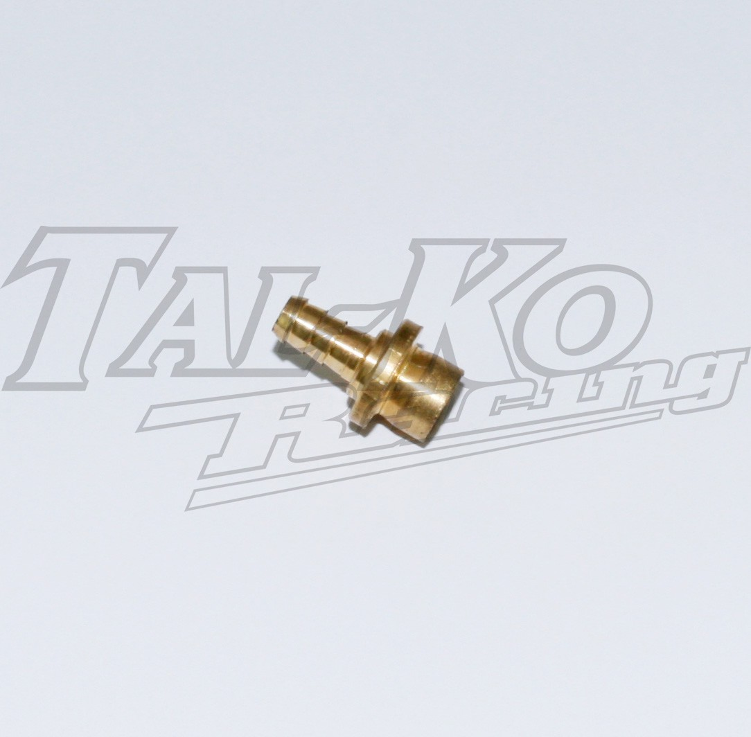 FUEL TANK UNION BRASS SINGLE ENDED