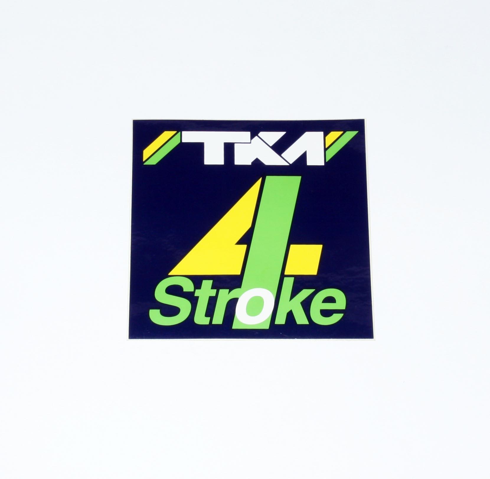 TKM 4 STROKE STICKER DECAL 100 x 100