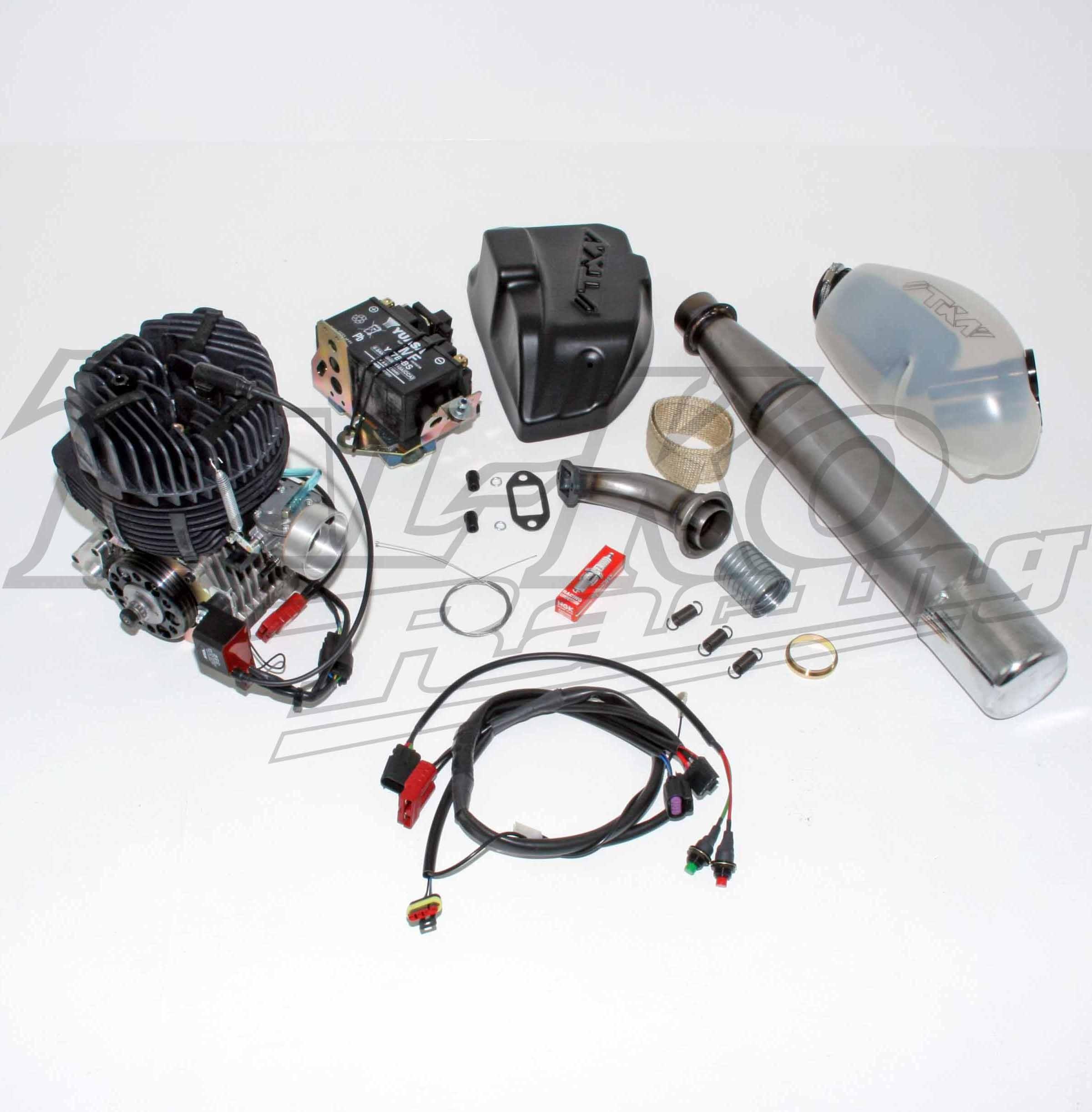 TKM BT82 115cc SENIOR EXTREME ENGINE TAG V CLUTCH DRIVE