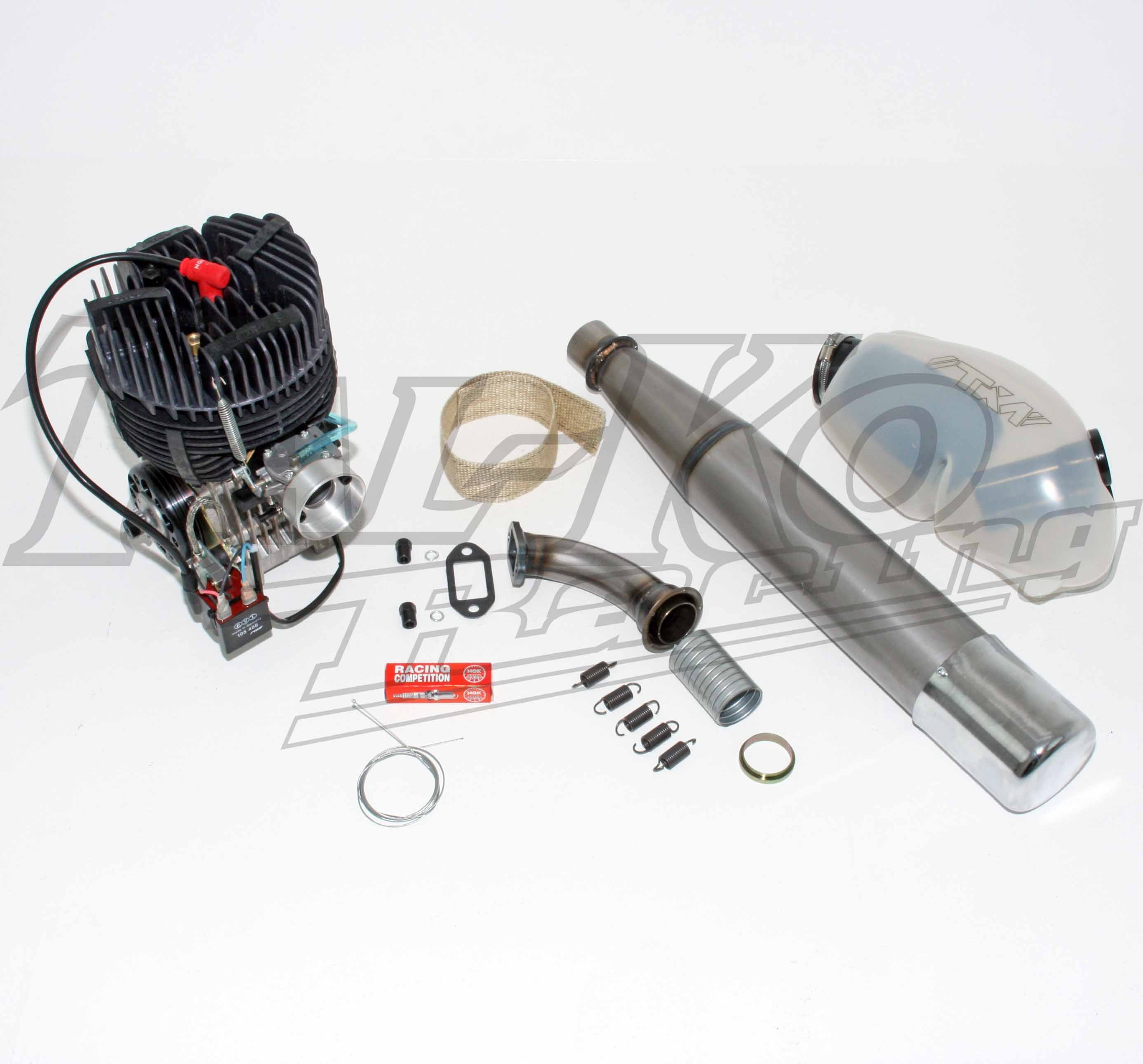 TKM BT82 100cc JUNIOR ENGINE V CLUTCH DRIVE