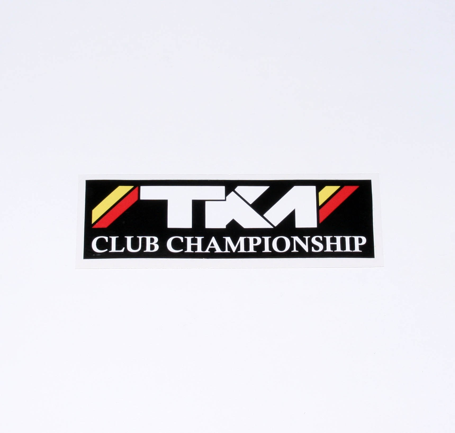 TKM CLUB CHAMP STICKER DECAL132 x 39