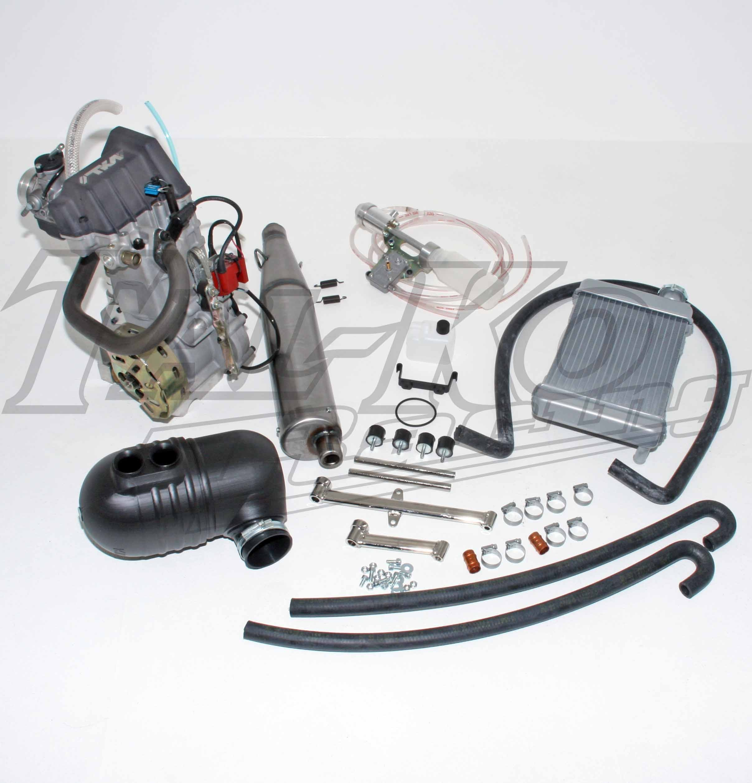 TKM K4S 200cc SENIOR 4 STROKE ENGINE ENDURO