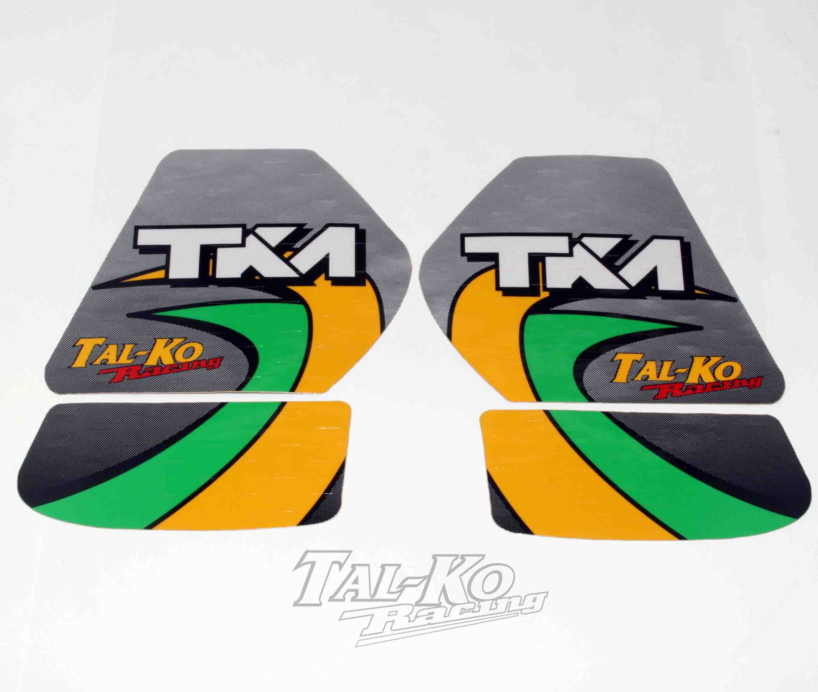 TKM STICKER DECAL TANK KIT 8.5 LIT
