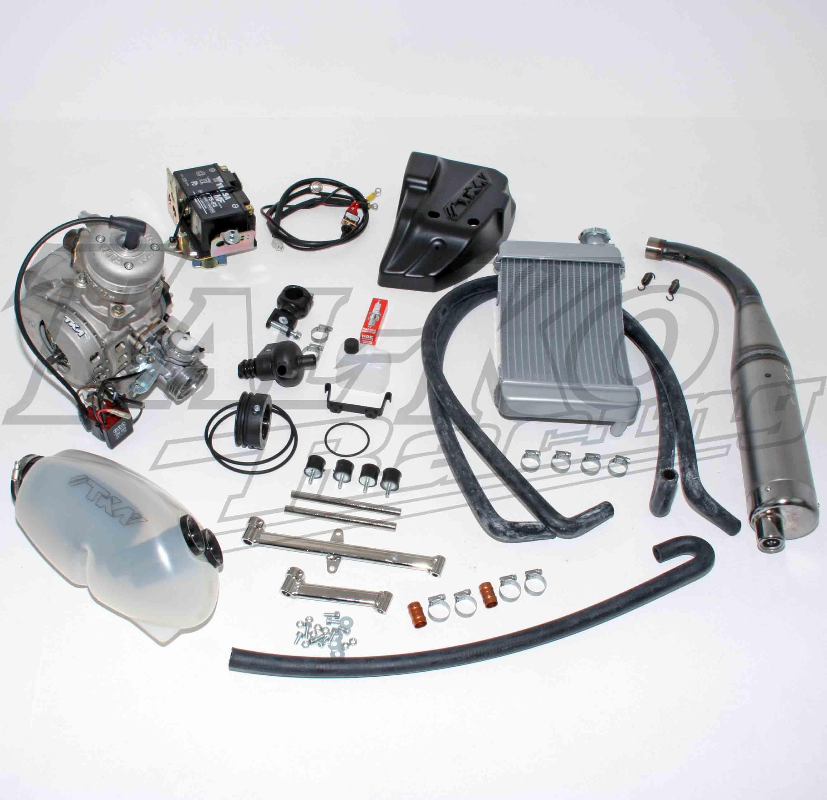 TKM WTP 80cc  CADET JUNIOR ENGINE TAG CLUTCH DRIVE