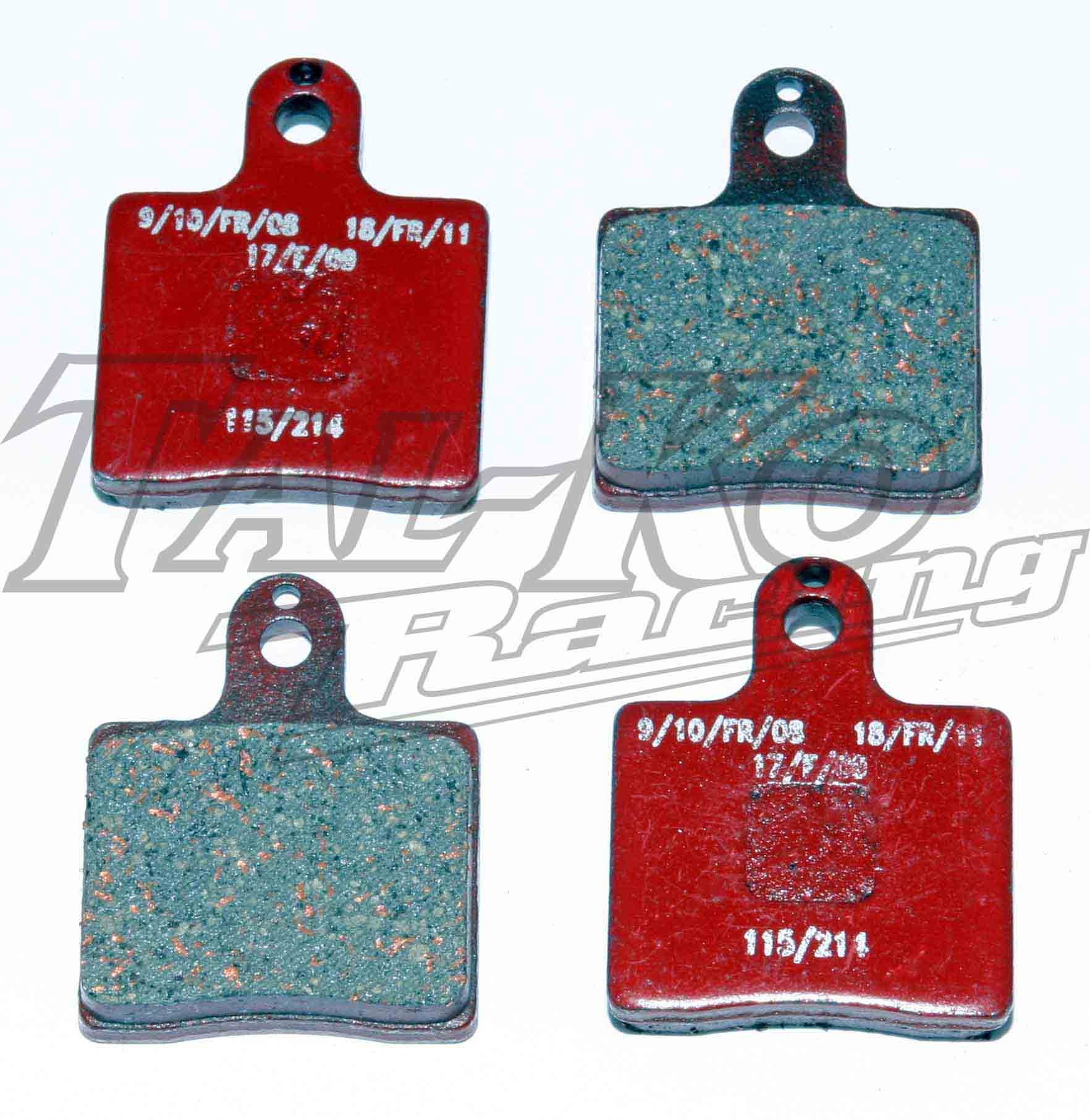 CRG BRAKE PAD SET 4  V05 FRONT